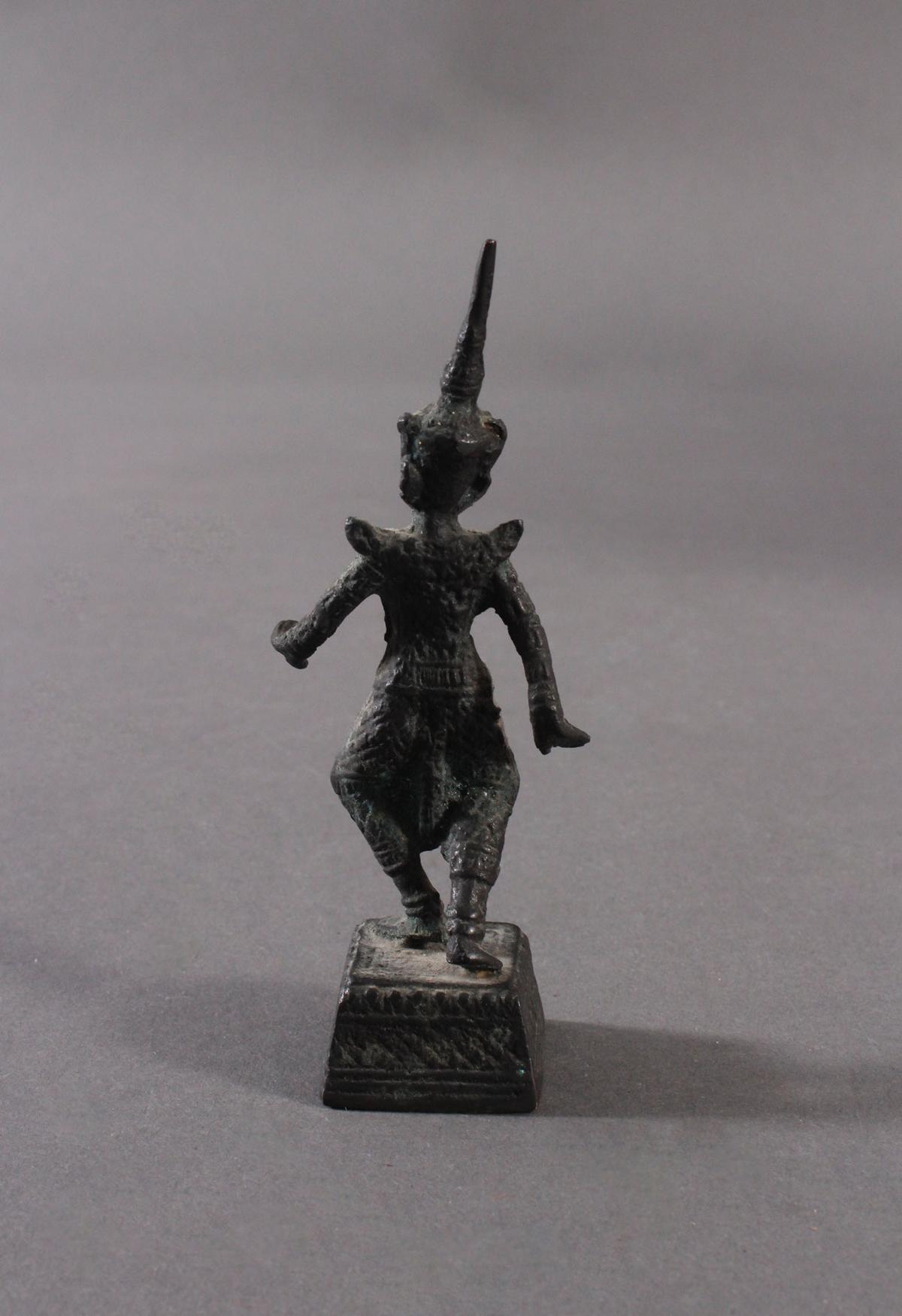 Antike Bronzeskulptur, Thailand-4