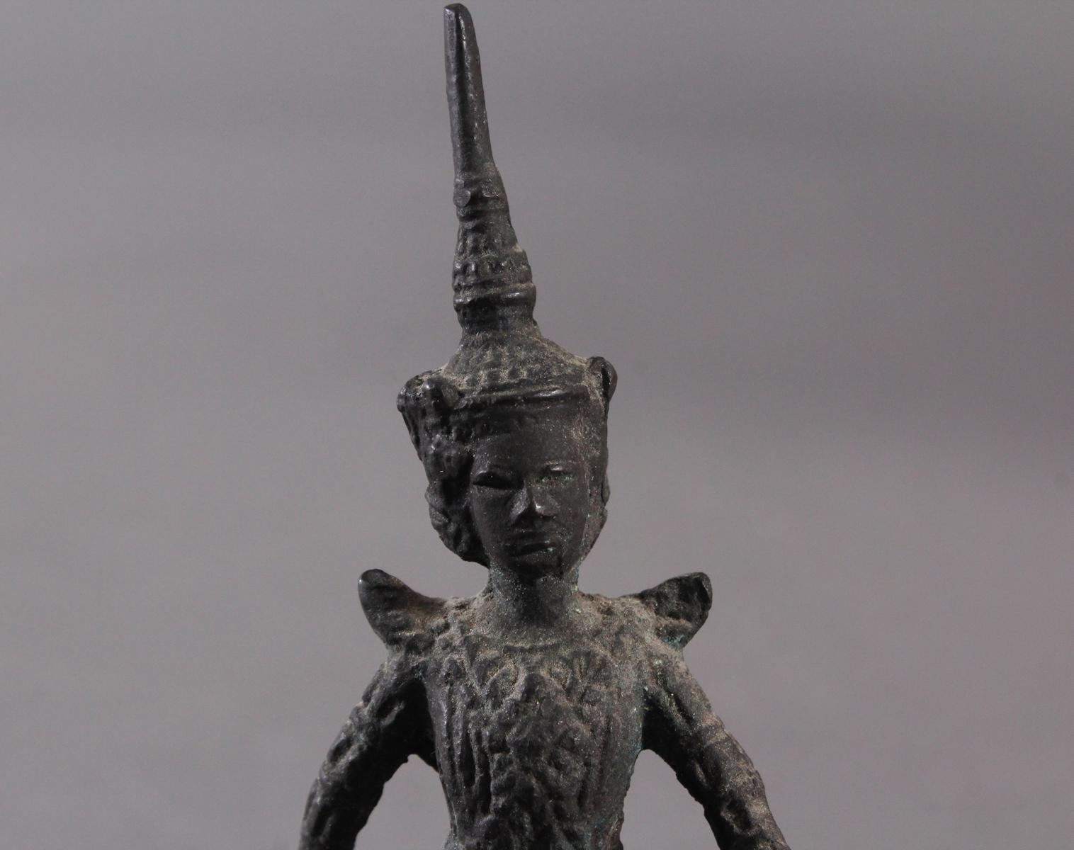 Antike Bronzeskulptur, Thailand-5