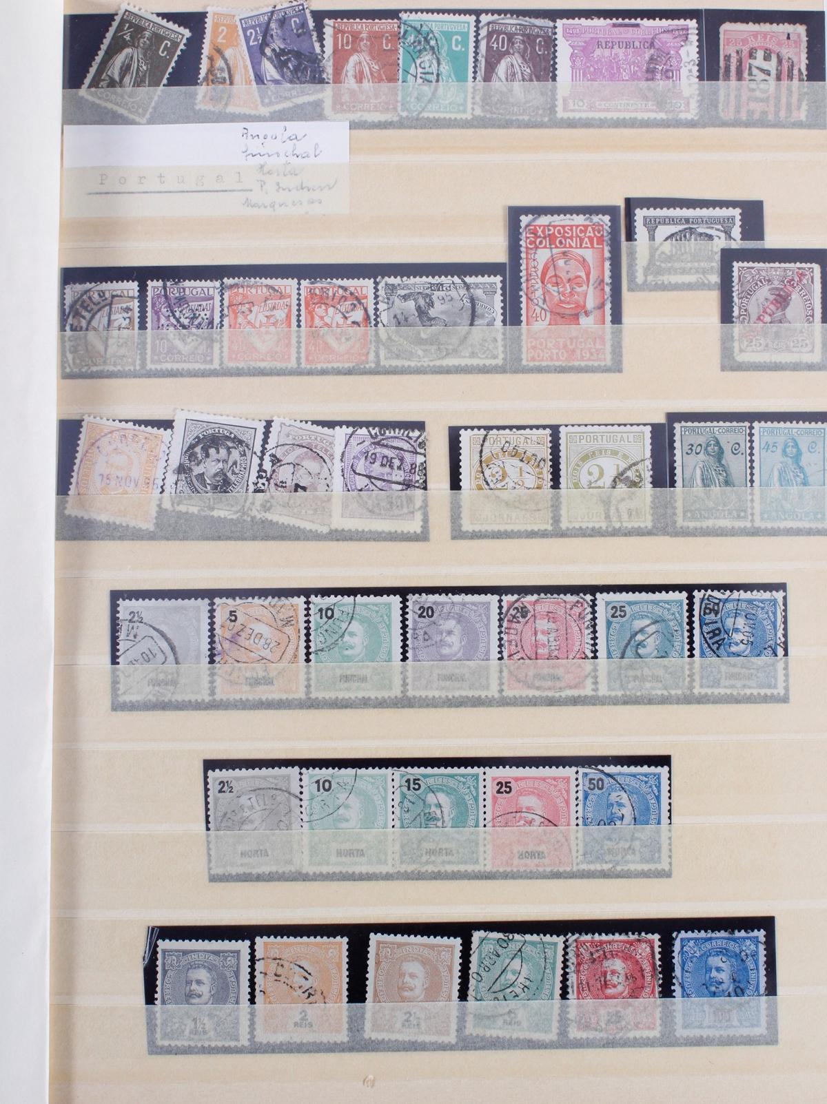 Kleine Briefmarkensammlung Europa und Alle Welt-2