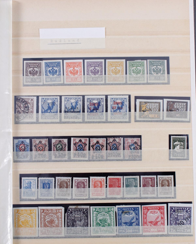 Kleine Briefmarkensammlung Europa und Alle Welt-4
