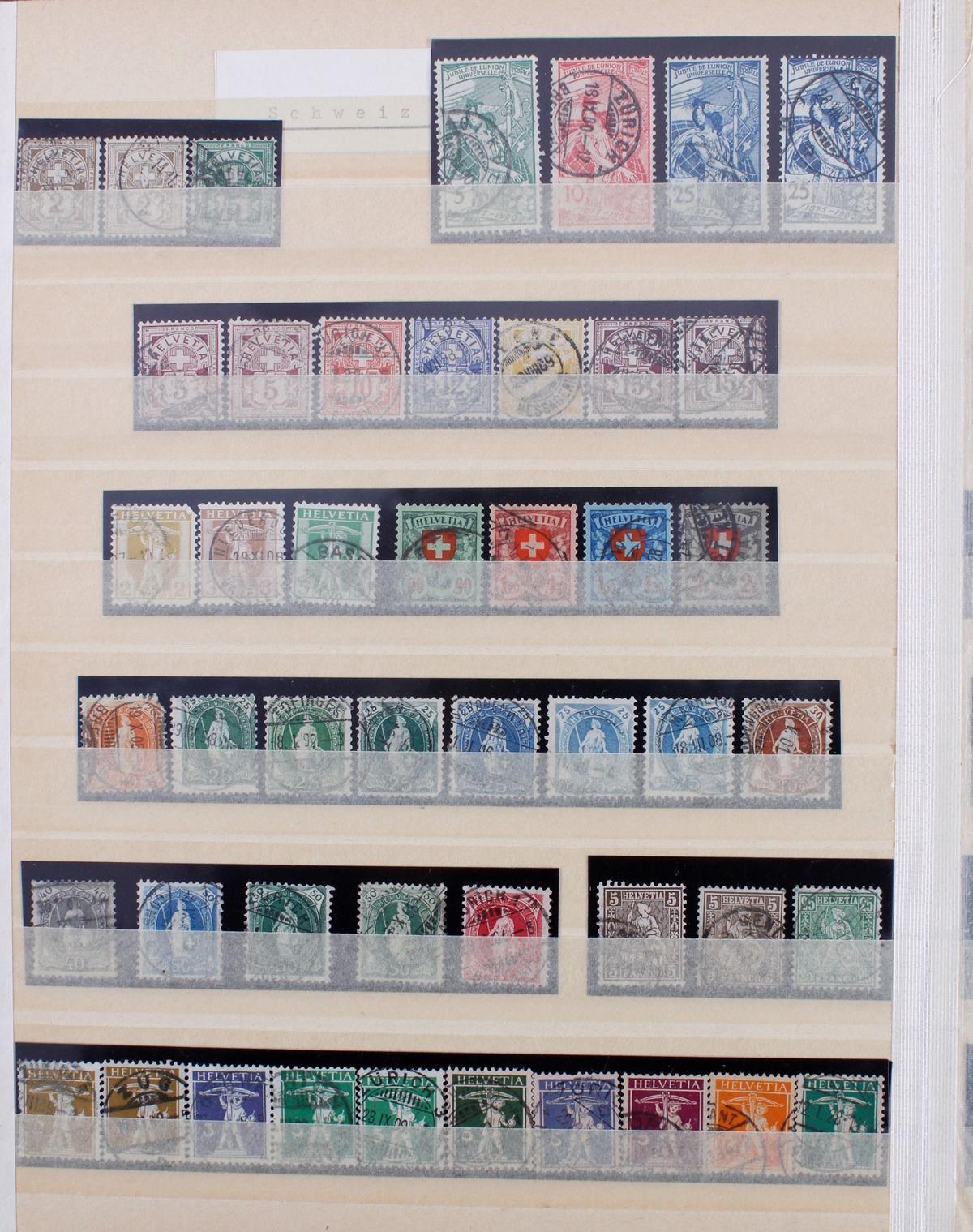 Kleine Briefmarkensammlung Europa und Alle Welt-5