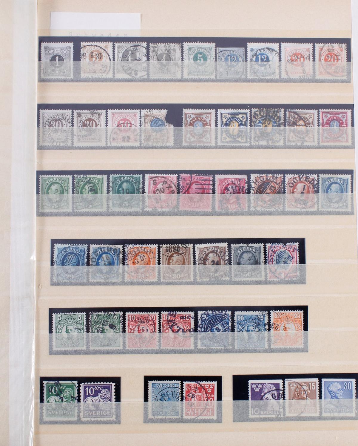 Kleine Briefmarkensammlung Europa und Alle Welt-7