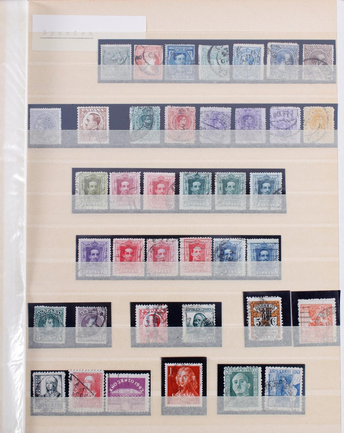 Kleine Briefmarkensammlung Europa und Alle Welt-8