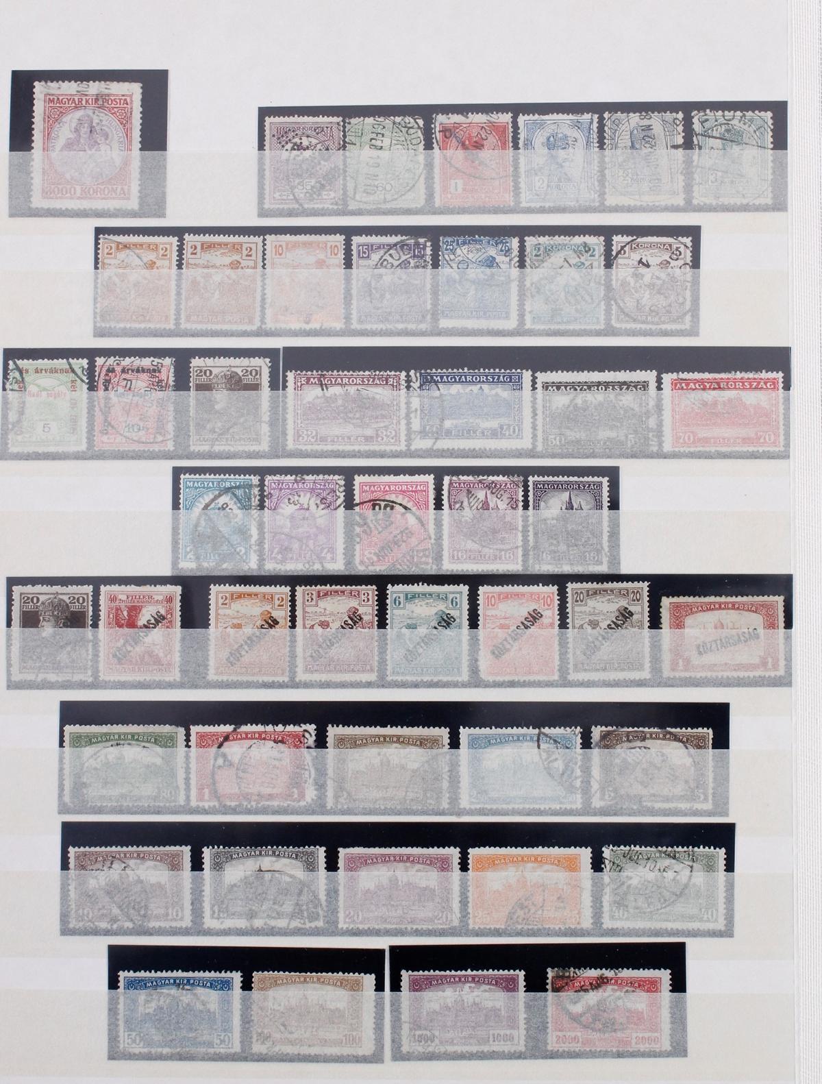 Kleine Briefmarkensammlung Europa und Alle Welt-12