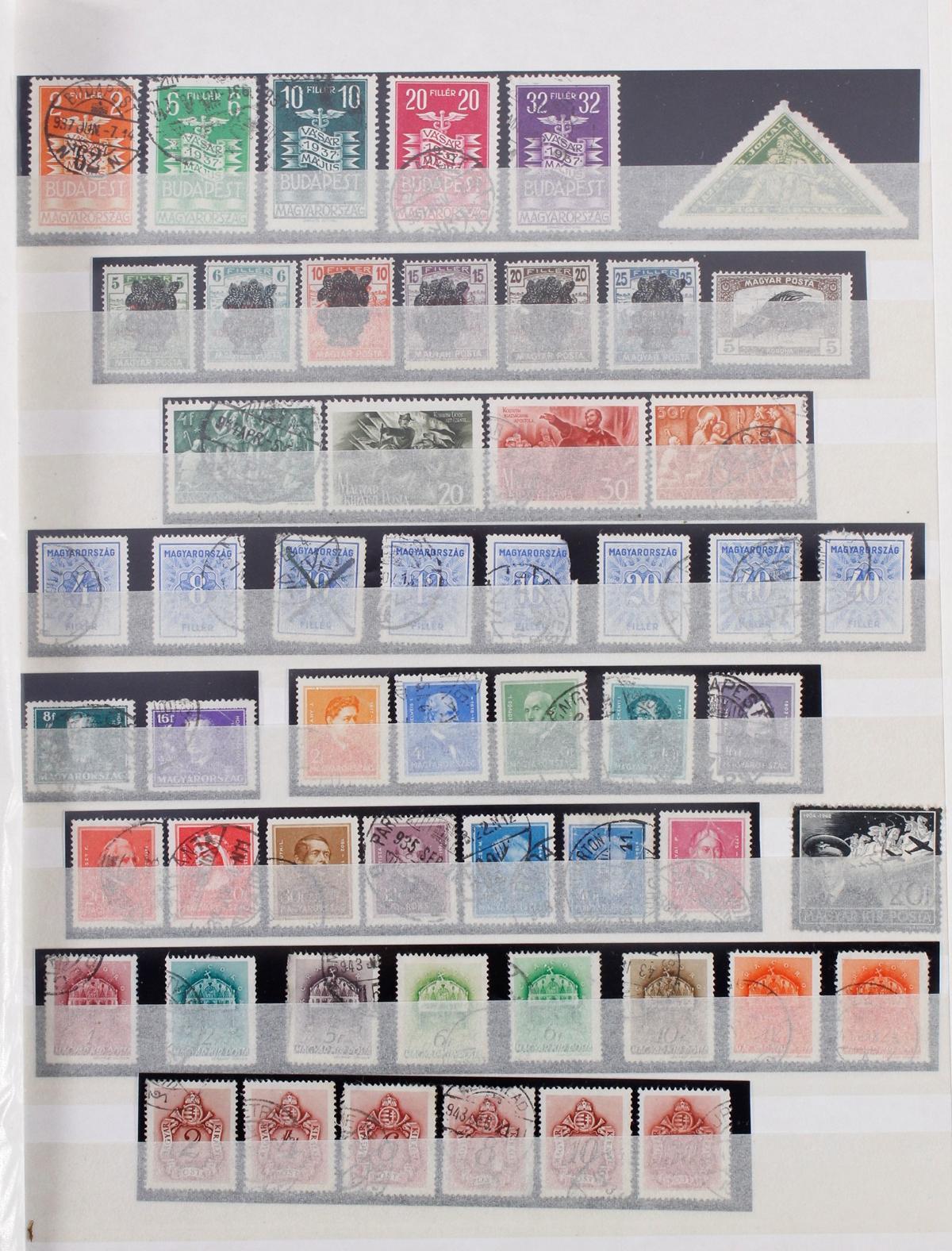 Kleine Briefmarkensammlung Europa und Alle Welt-13