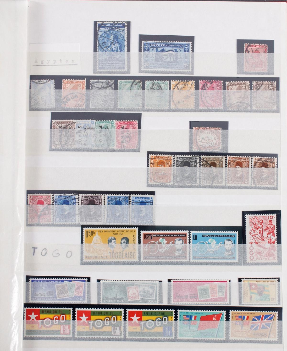 Kleine Briefmarkensammlung Europa und Alle Welt-14