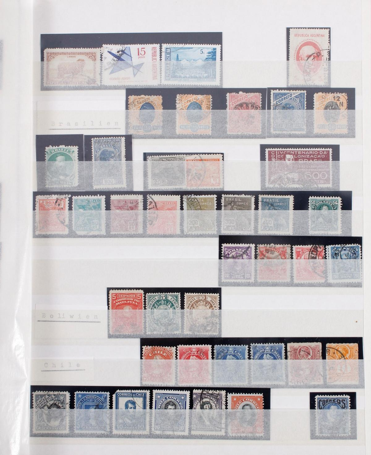 Kleine Briefmarkensammlung Europa und Alle Welt-15