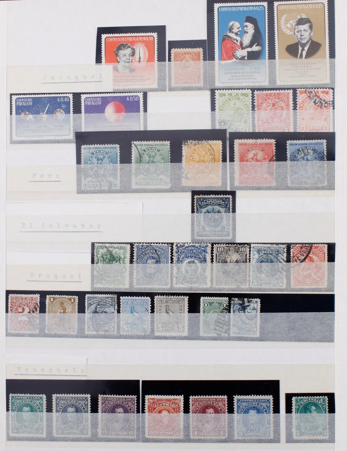 Kleine Briefmarkensammlung Europa und Alle Welt-16
