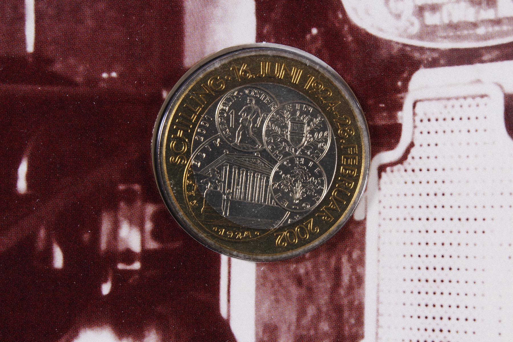 Kleine Sammlung Kursmünzsätze und Sonderprägungen vor Euro-Einführung-4