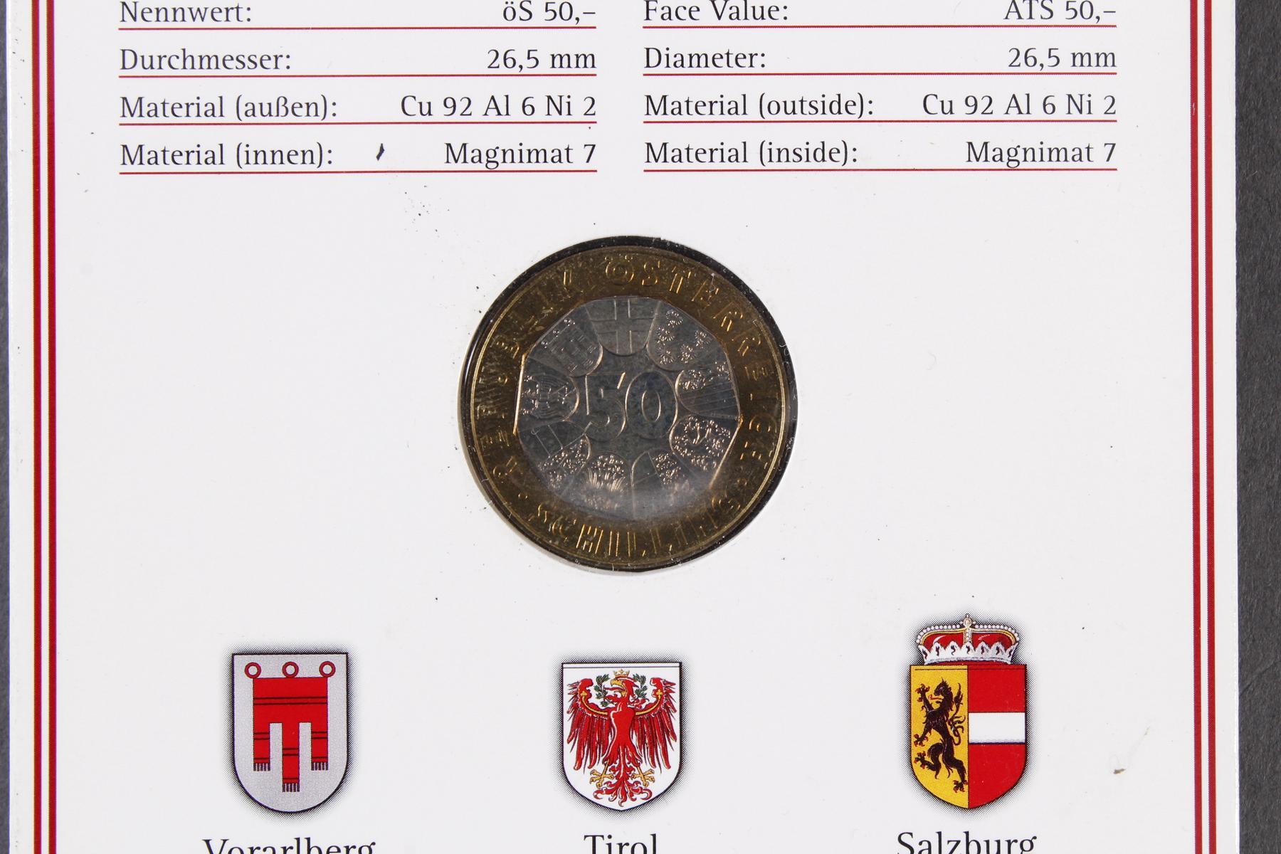 Kleine Sammlung Kursmünzsätze und Sonderprägungen vor Euro-Einführung-5