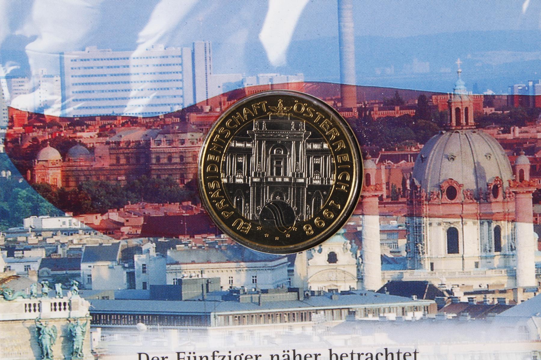 Kleine Sammlung Kursmünzsätze und Sonderprägungen vor Euro-Einführung-6