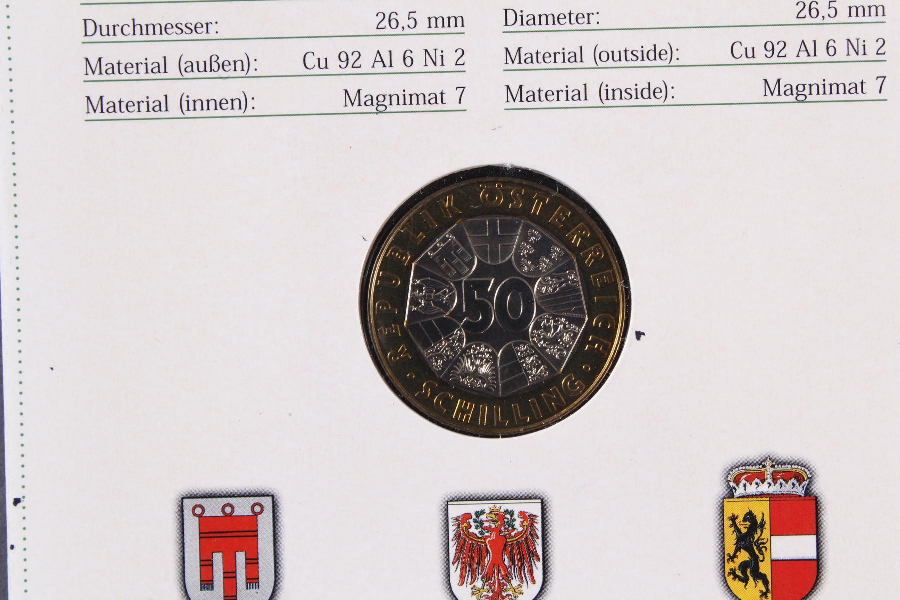 Kleine Sammlung Kursmünzsätze und Sonderprägungen vor Euro-Einführung-9