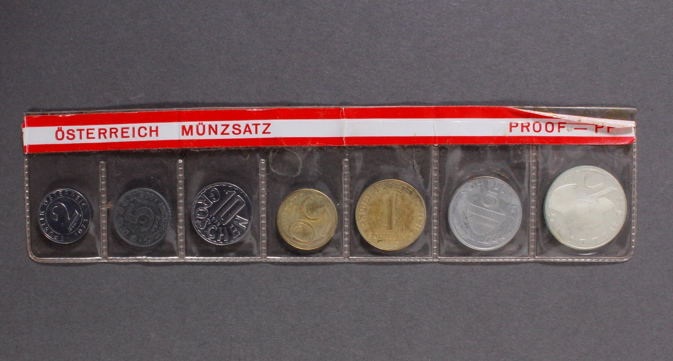 Kleine Sammlung Kursmünzsätze und Sonderprägungen vor Euro-Einführung-10