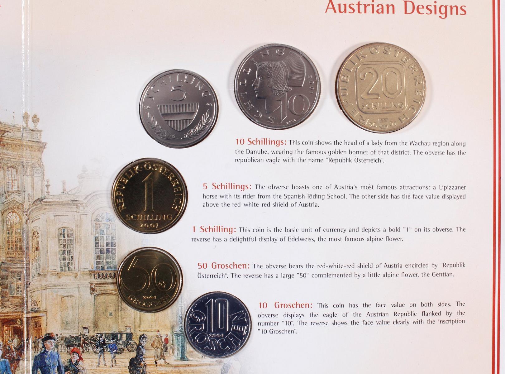 Kleine Sammlung Kursmünzsätze und Sonderprägungen vor Euro-Einführung-16