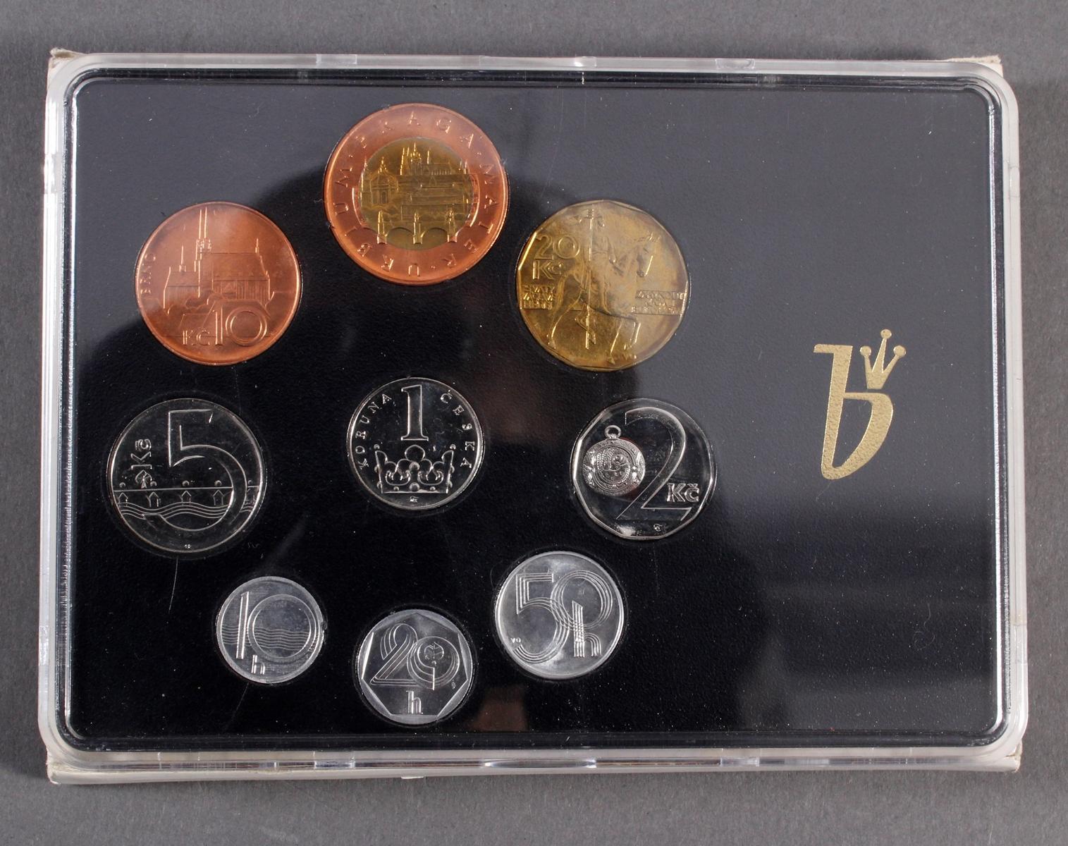 Kleine Sammlung Kursmünzsätze und Sonderprägungen vor Euro-Einführung-18