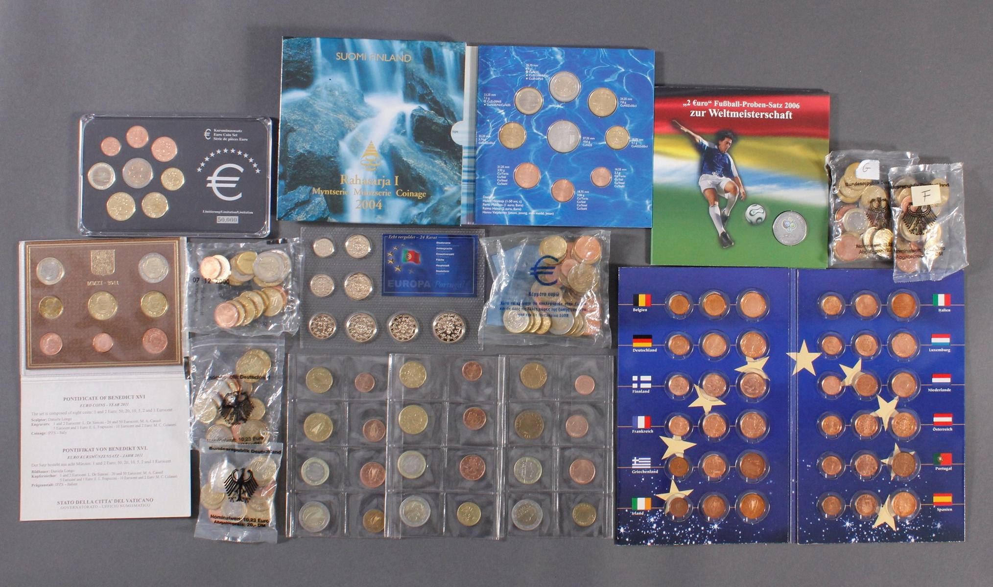 Sammlung Euro Münzen