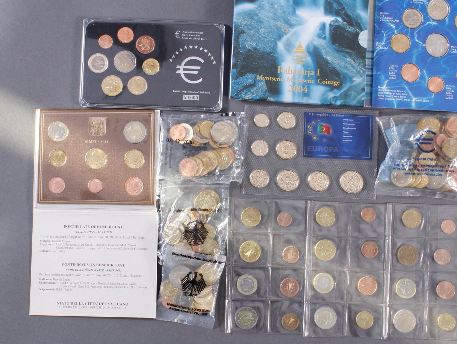 Sammlung Euro Münzen-2