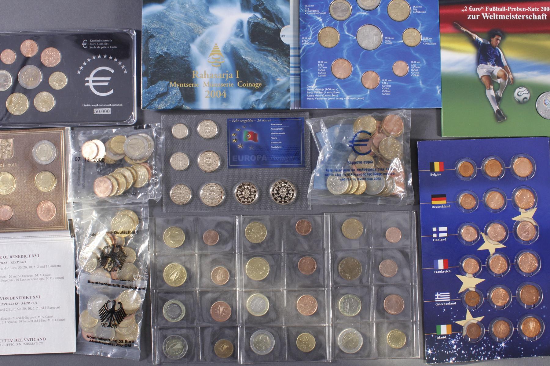 Sammlung Euro Münzen-3