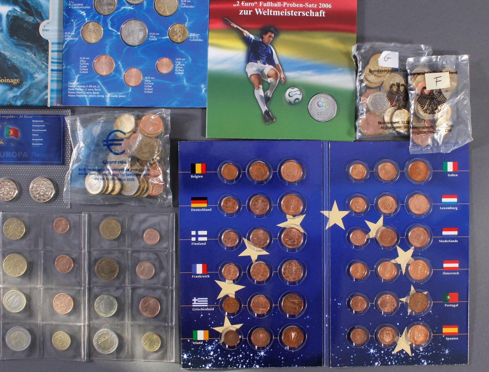Sammlung Euro Münzen-4
