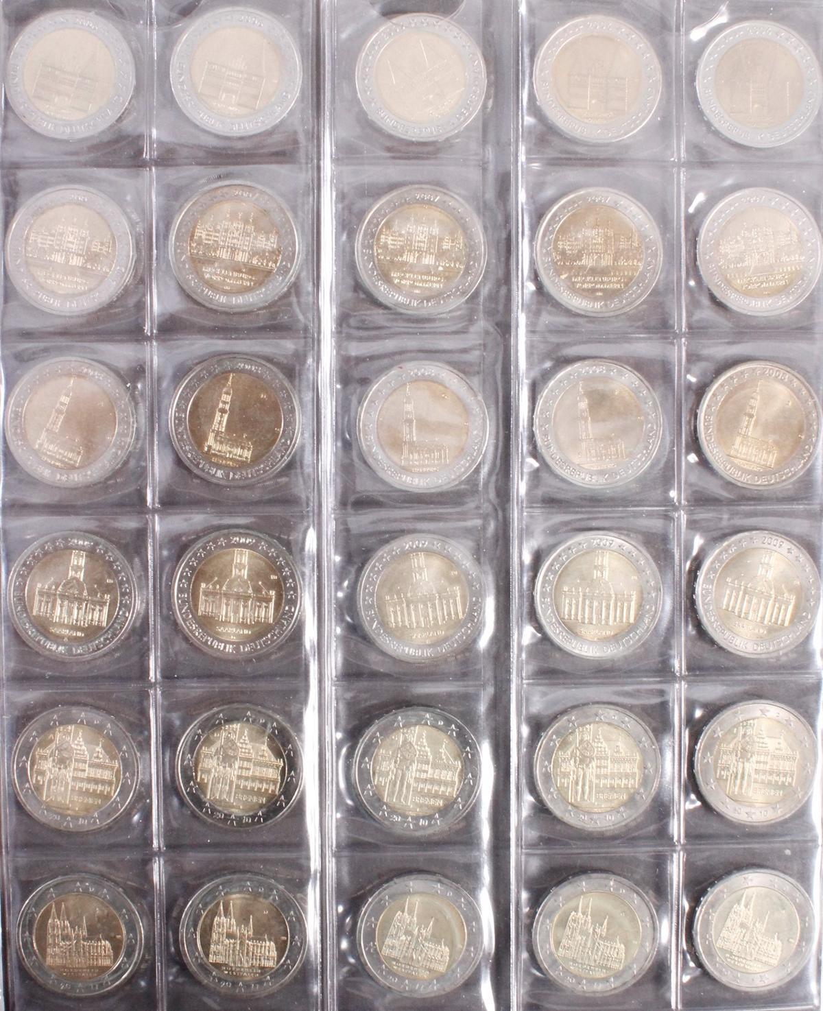 BRD, 2 Euro Sondermünzen