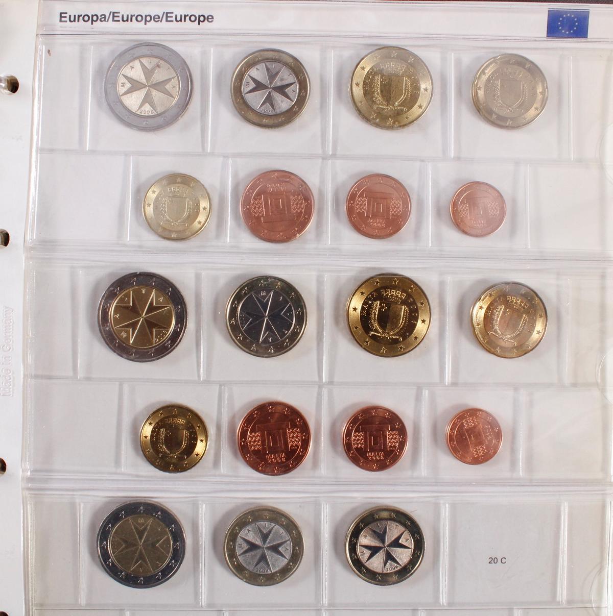 Kleine Euro-Münzsammlung-7