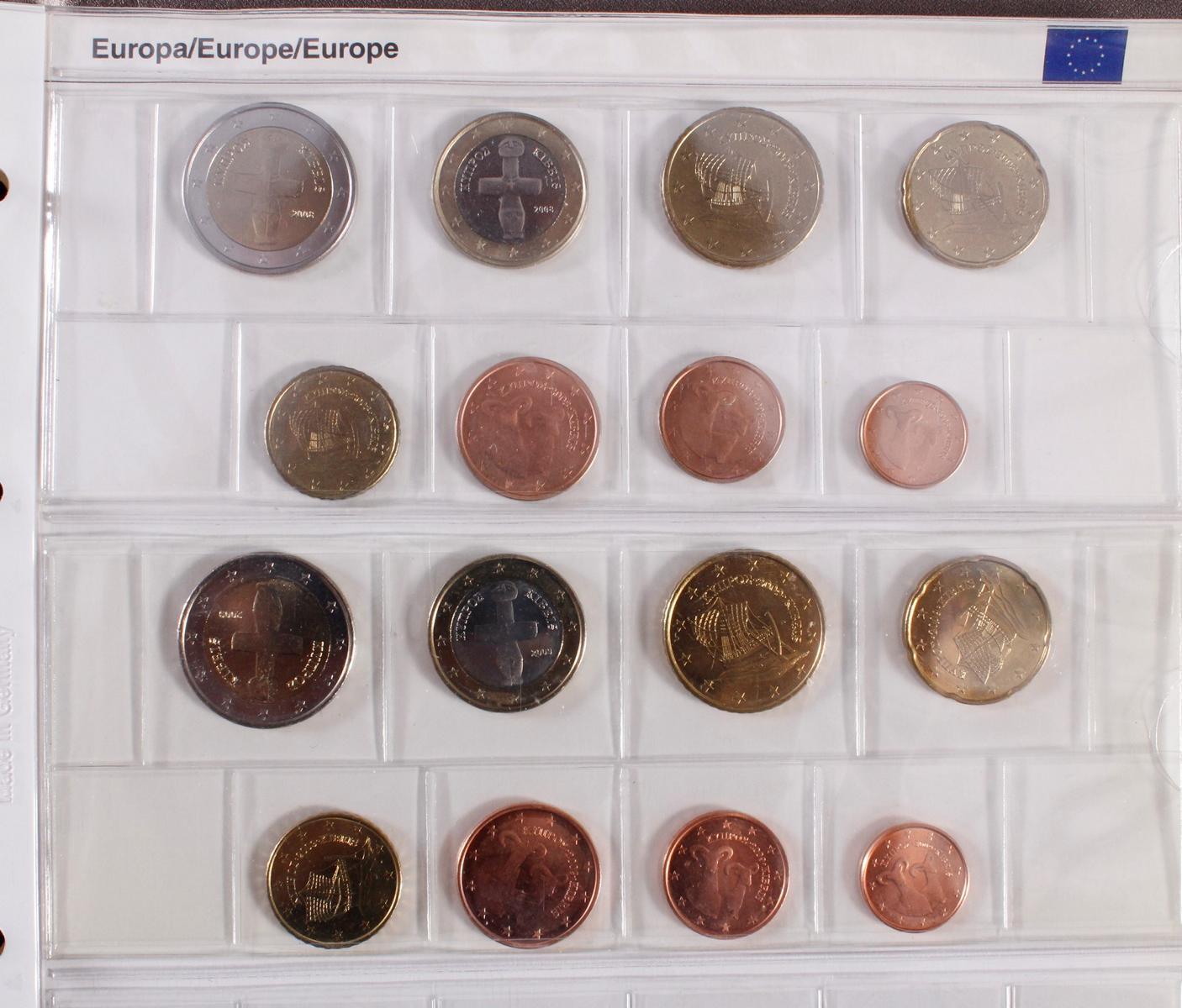 Kleine Euro-Münzsammlung-10