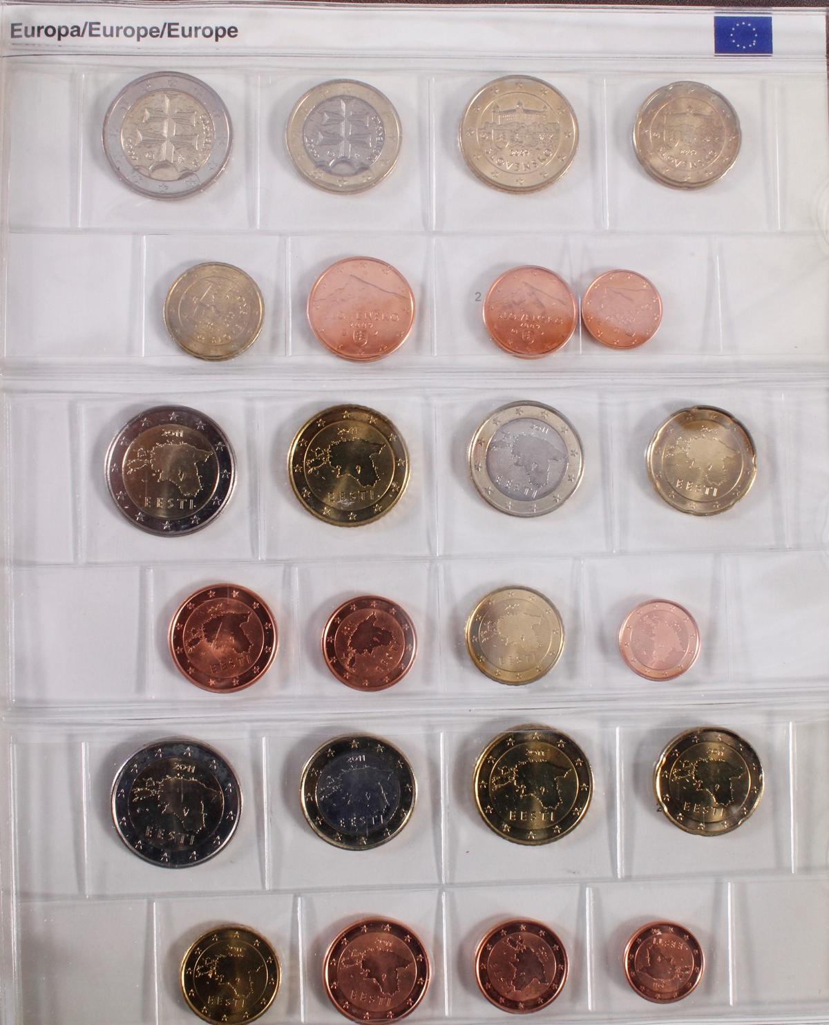 Kleine Euro-Münzsammlung-11