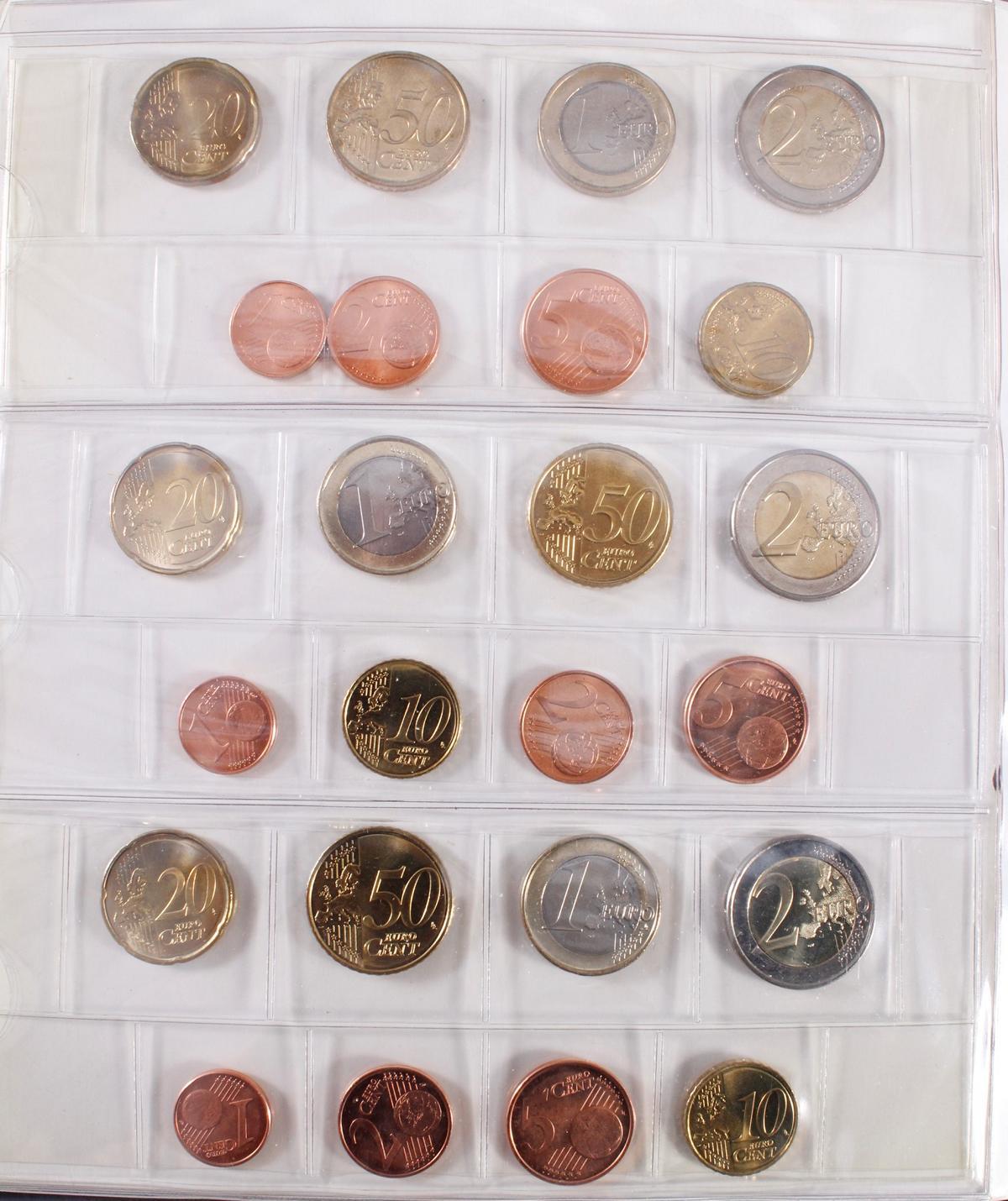 Kleine Euro-Münzsammlung-12