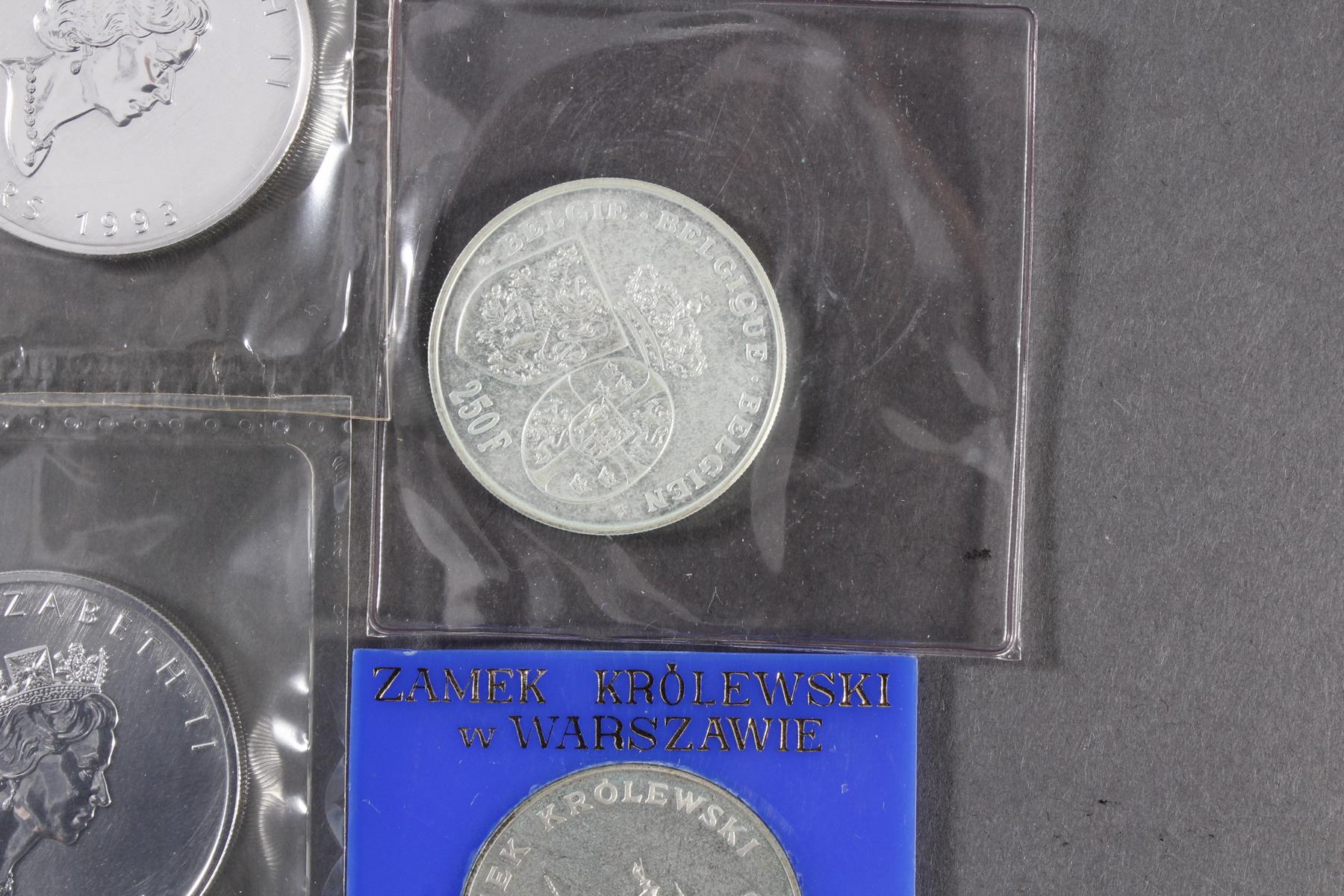 Silbermünzen und Medaillen-2