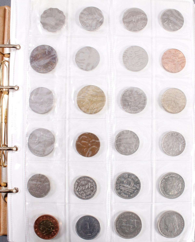Münzalbum Alle Welt mit modernen Silbermünzen-2