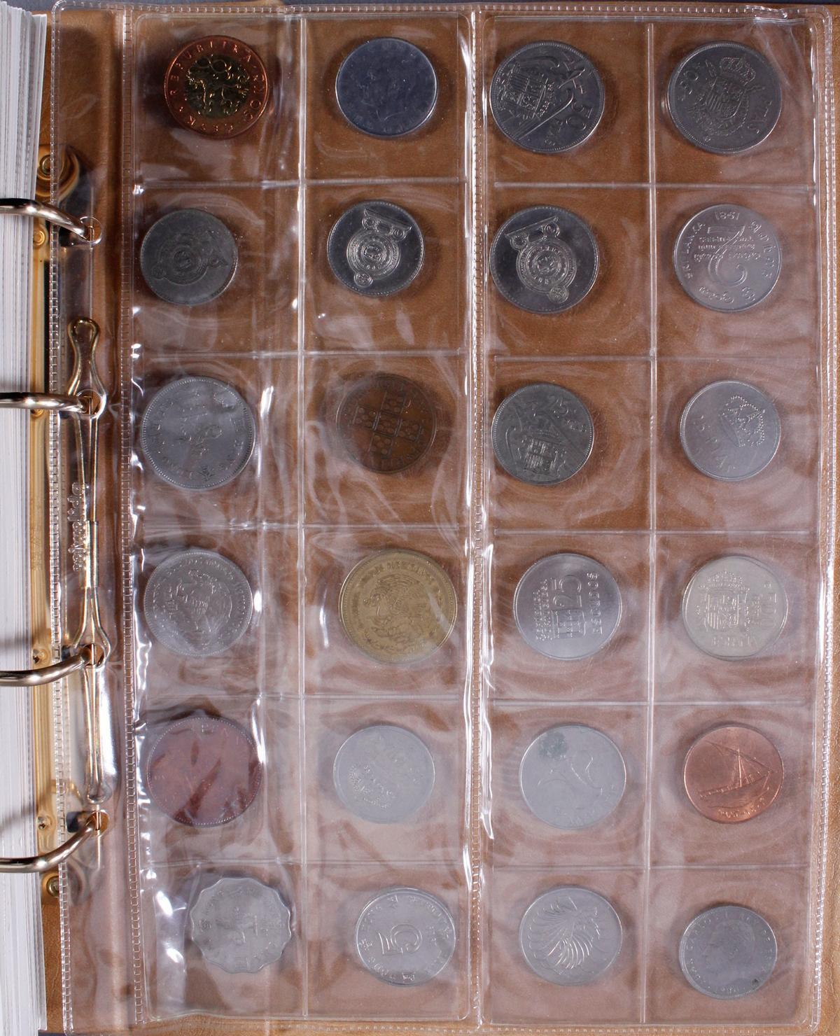 Münzalbum Alle Welt mit modernen Silbermünzen-3
