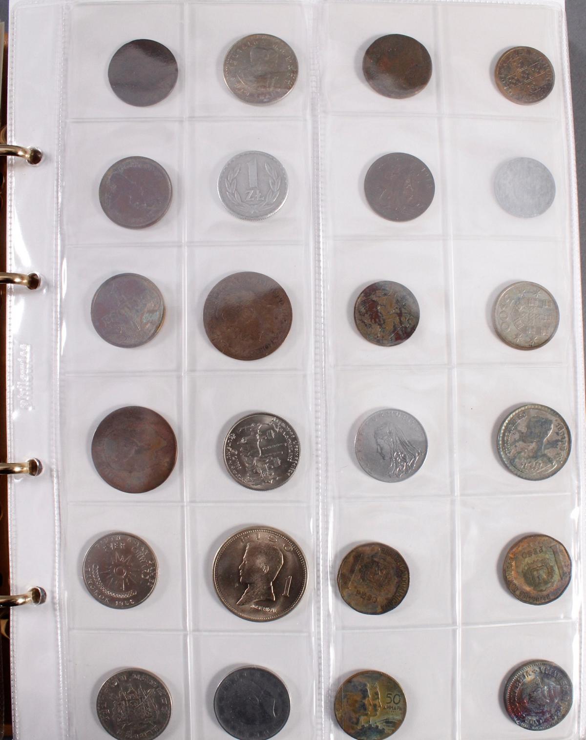 Münzalbum Alle Welt mit modernen Silbermünzen-4