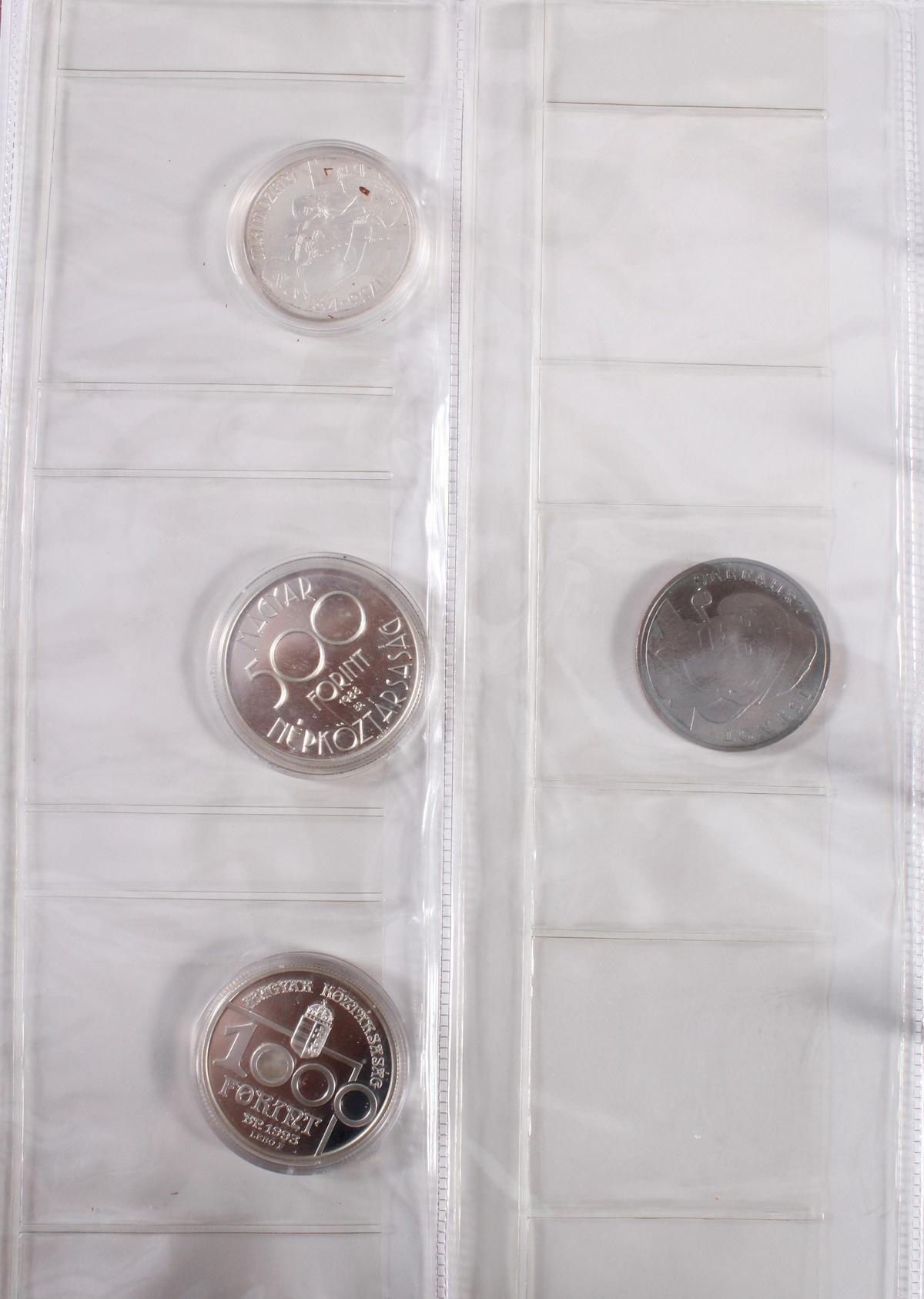 Münzalbum Alle Welt mit modernen Silbermünzen-5