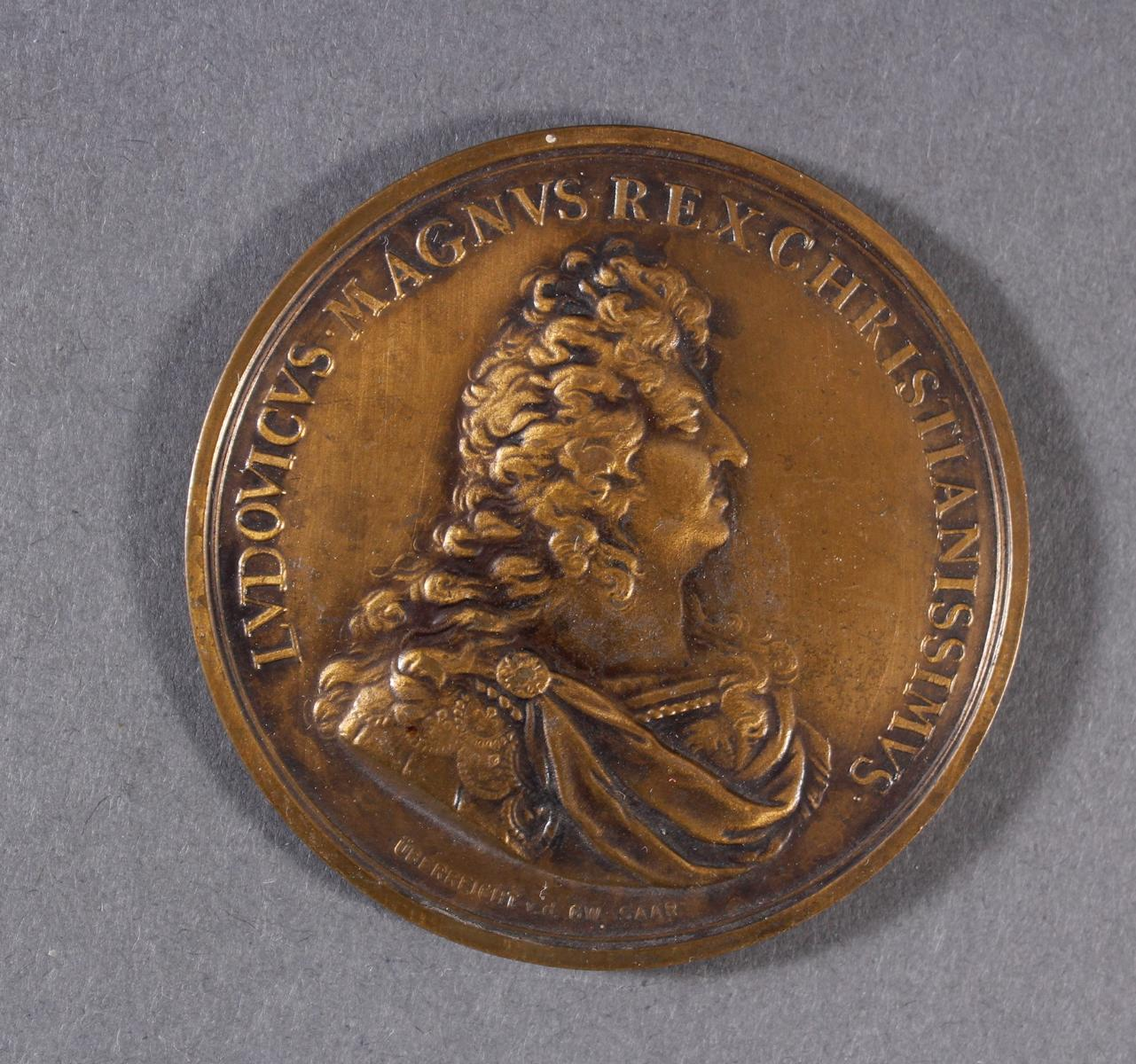 Louis XIV, 1643-1715. Prämienmedaille