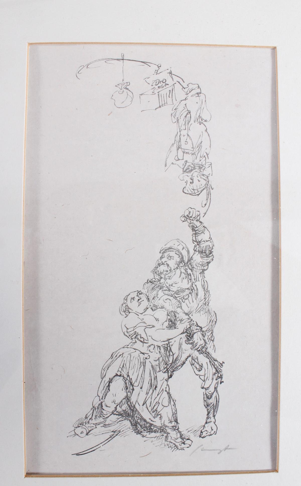 Max Slevogt (Landshut 1868 – 1932 Neukastel/Pfalz)-4