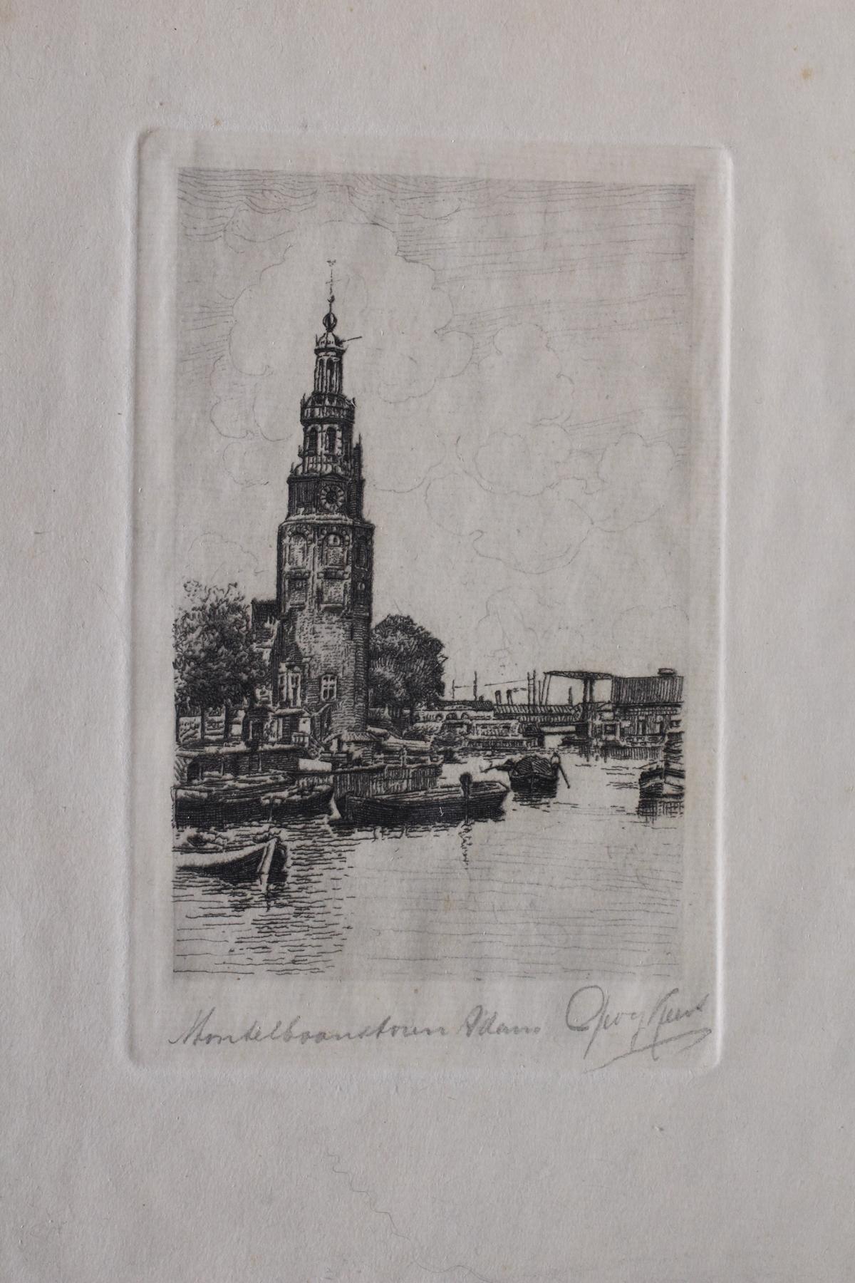 Fünf Radierungen, Bremen und Amsterdam-2