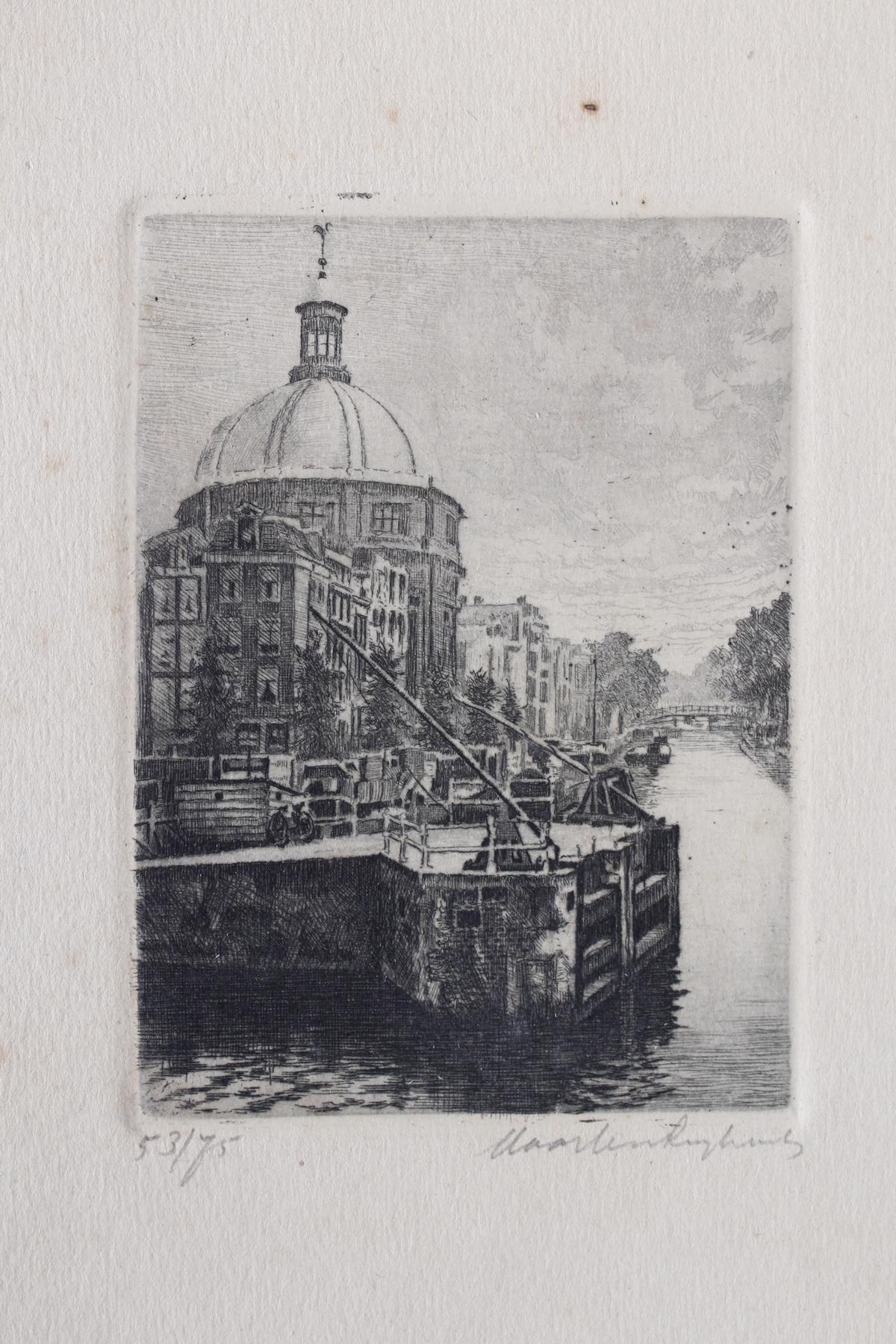 Fünf Radierungen, Bremen und Amsterdam-3