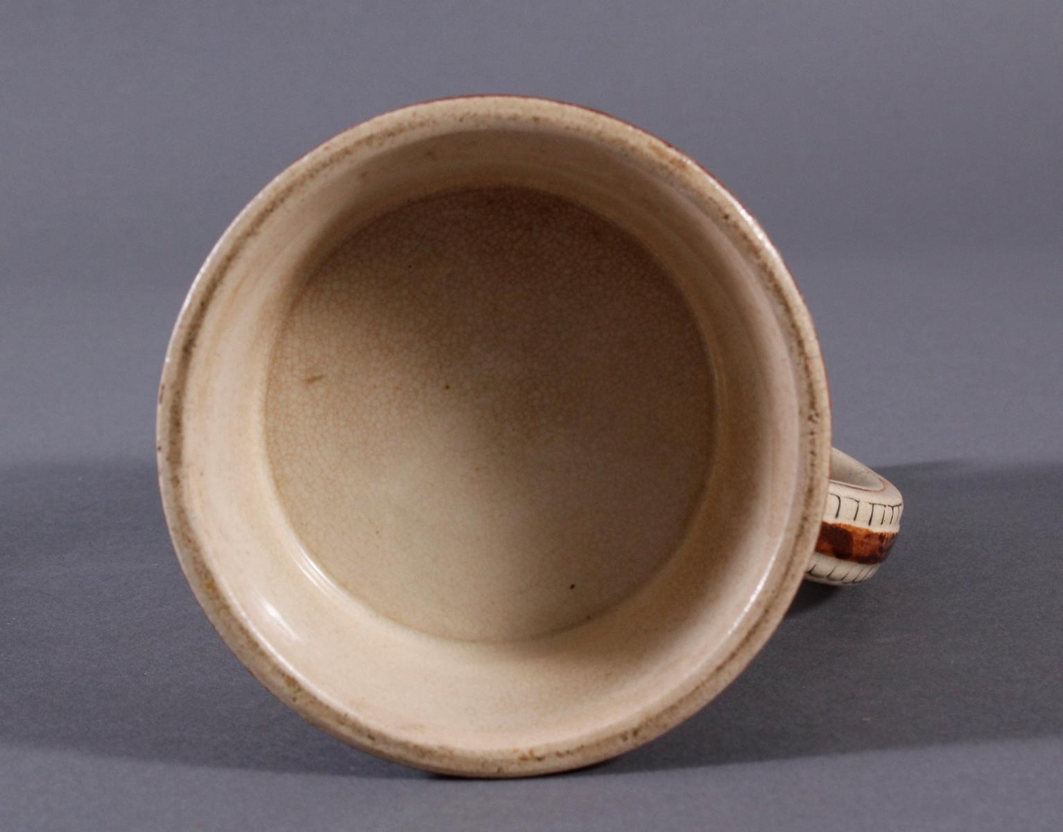 2 Keramikkrüge um 1900, Kegeln und Gewerbeausstellung-8
