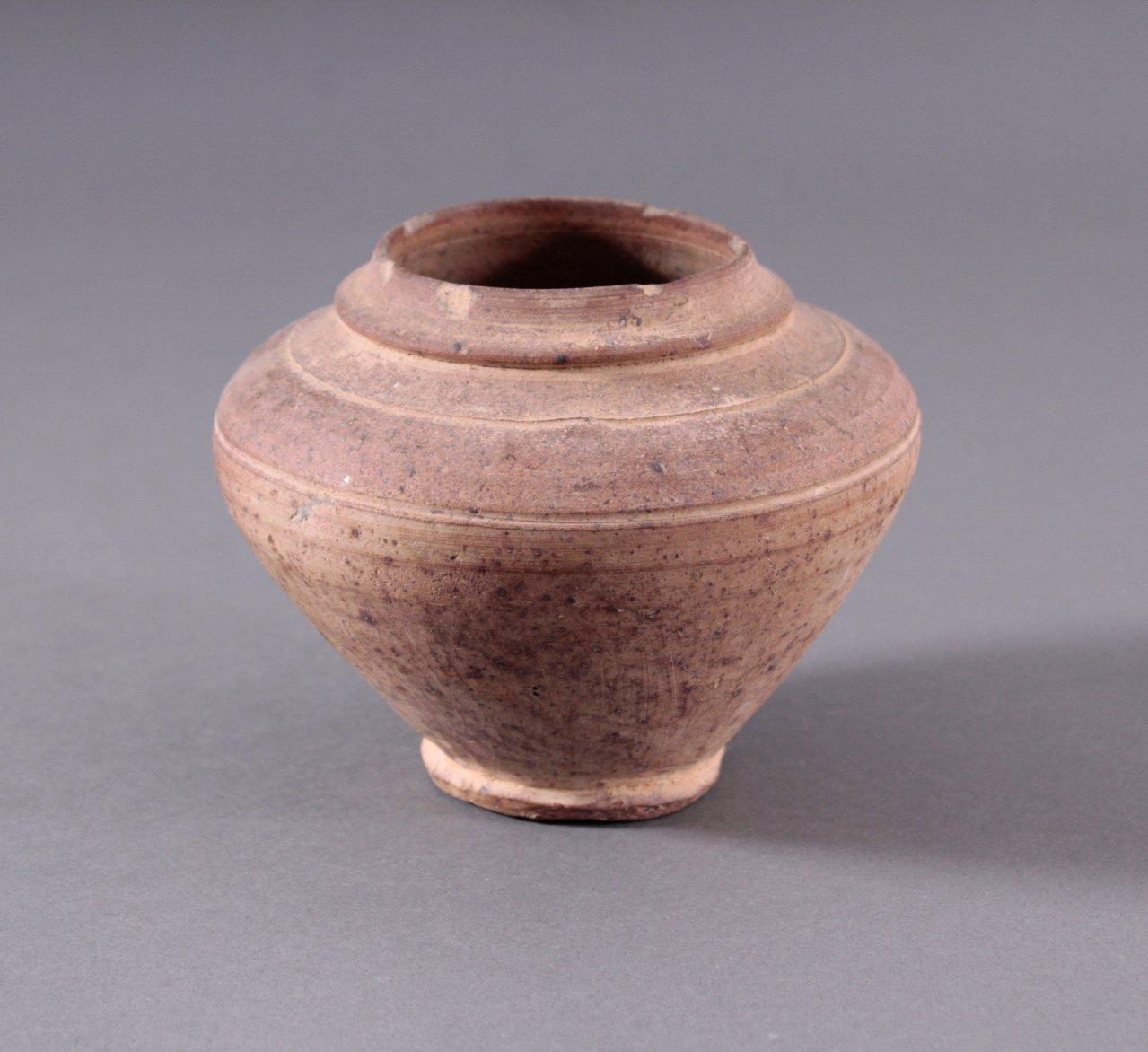 Vorratsgefäß, Ankor-Periode 12./13. Jahrhundert, Kambodscha