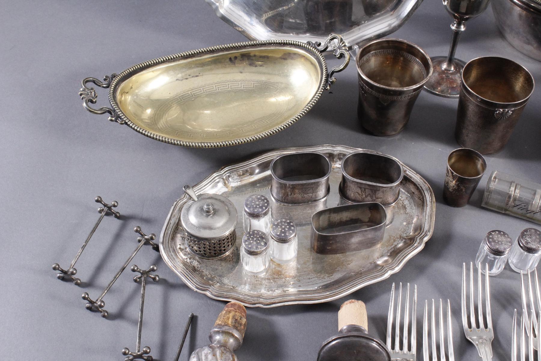 Konvolut Silber und versilbertes-2