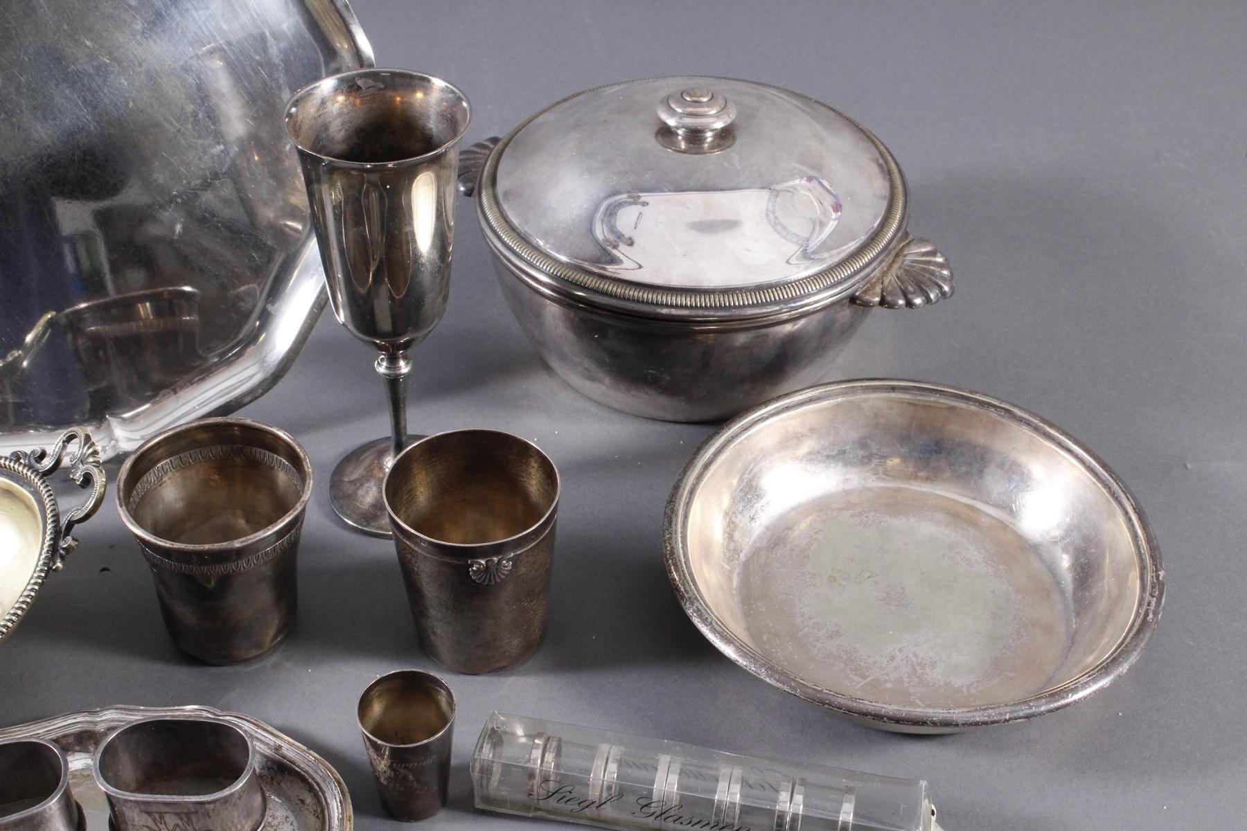 Konvolut Silber und versilbertes-4