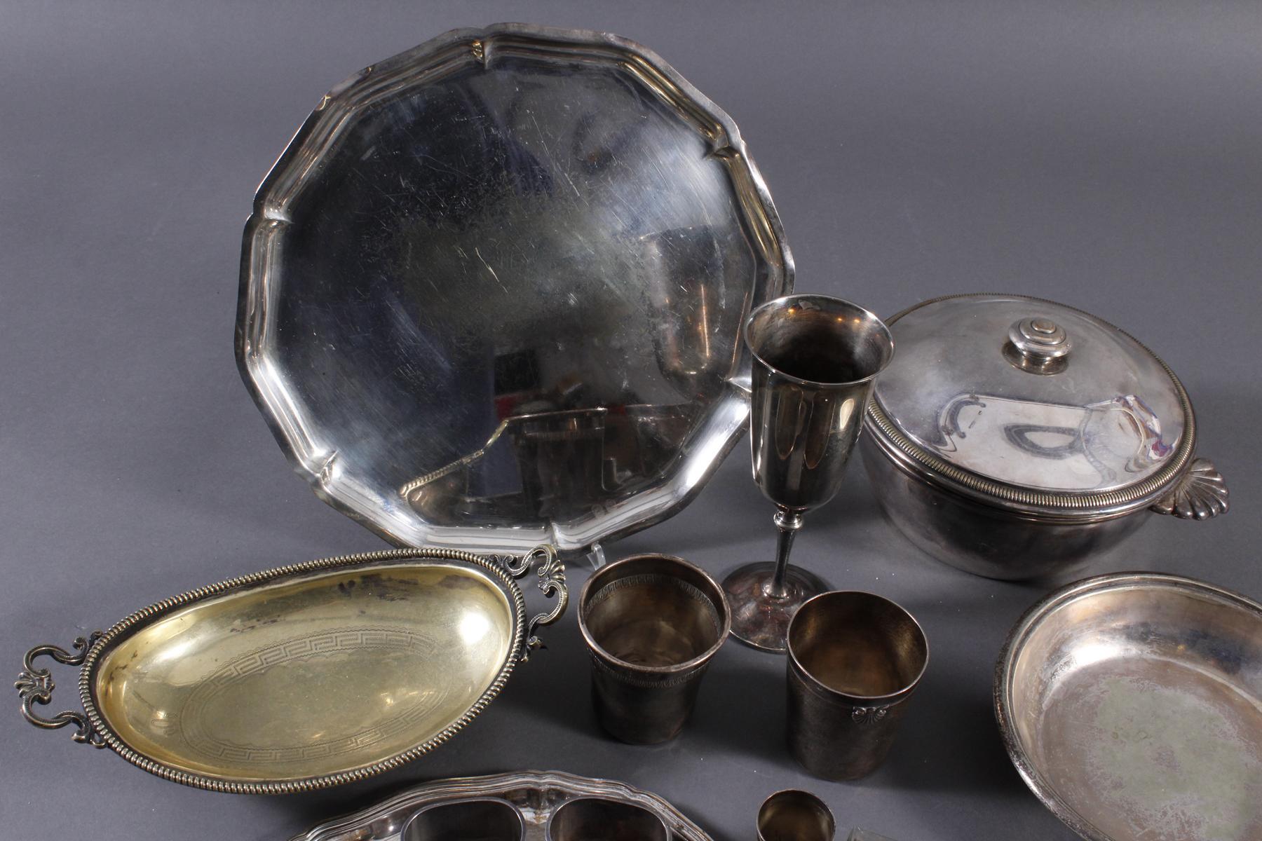 Konvolut Silber und versilbertes-7