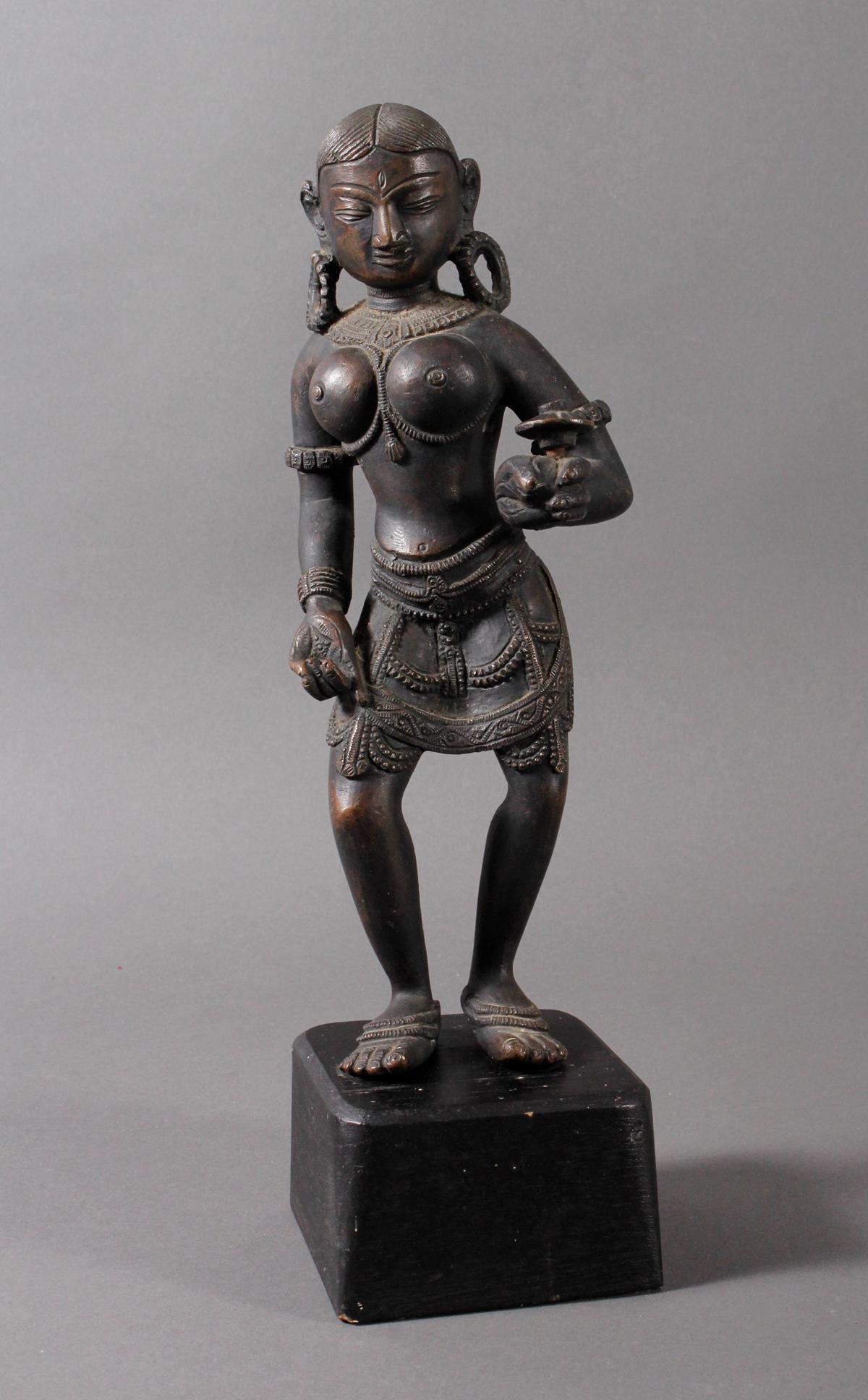 Bronze der hinduistischen Gottheit Shakti