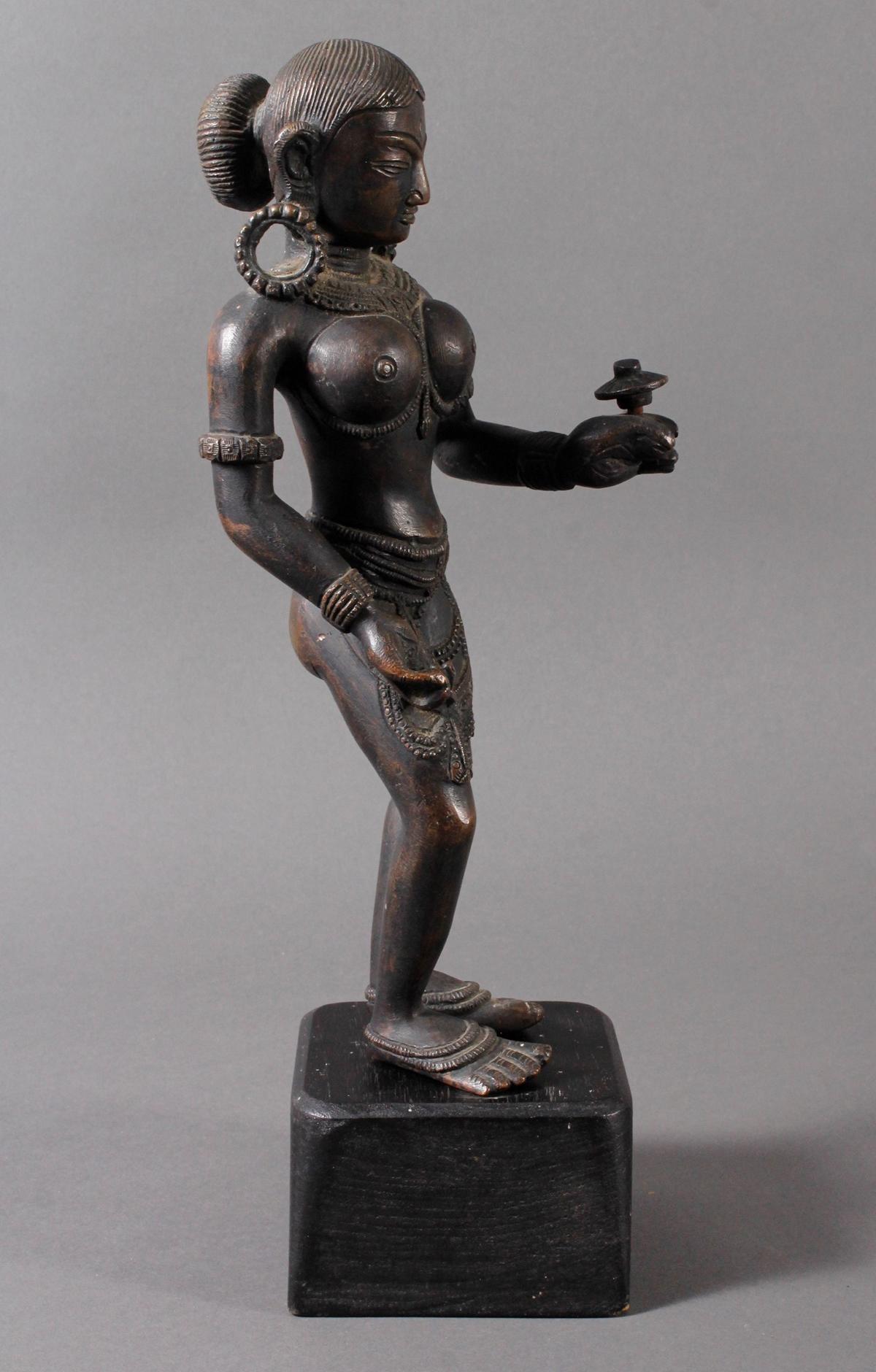 Bronze der hinduistischen Gottheit Shakti-2