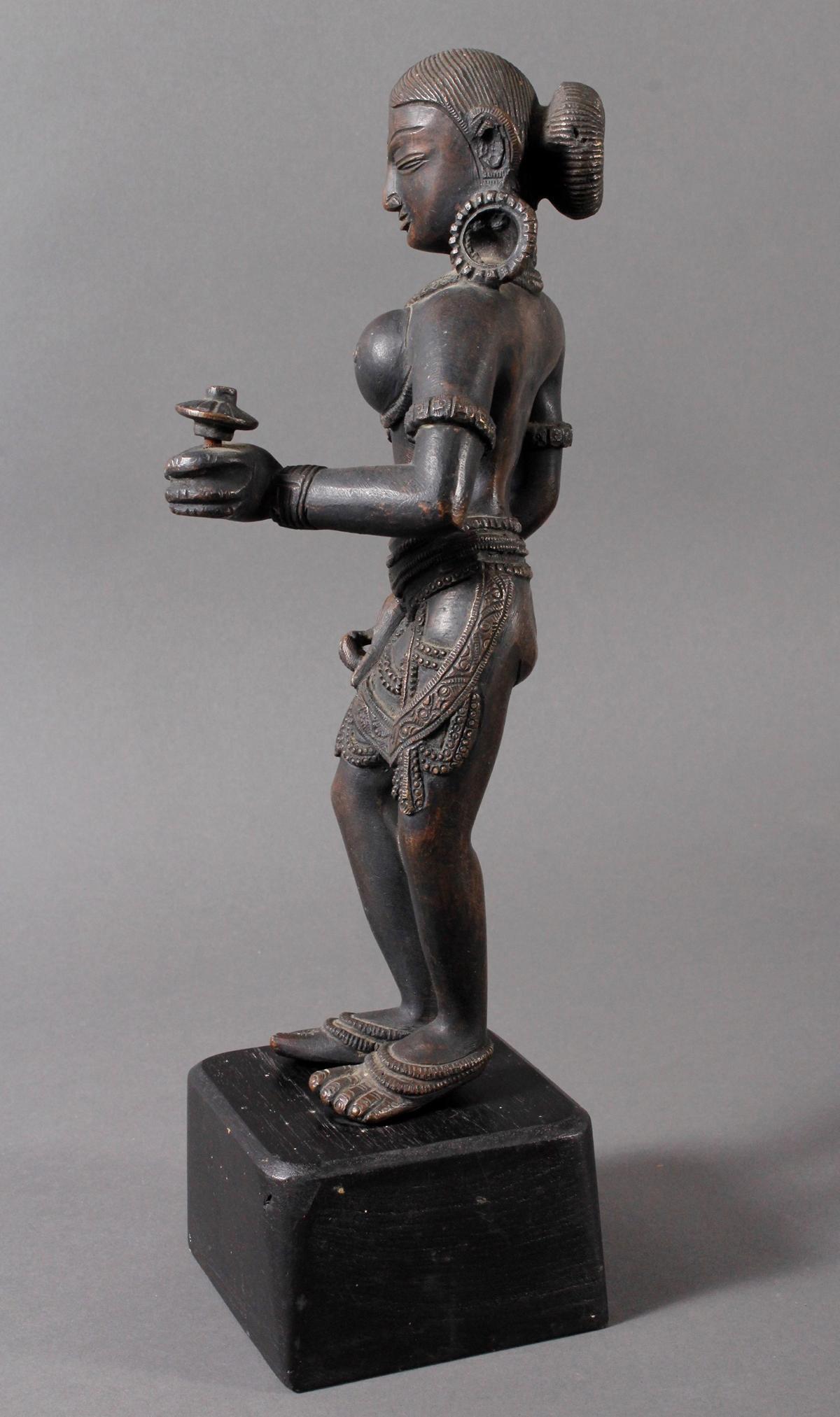 Bronze der hinduistischen Gottheit Shakti-4
