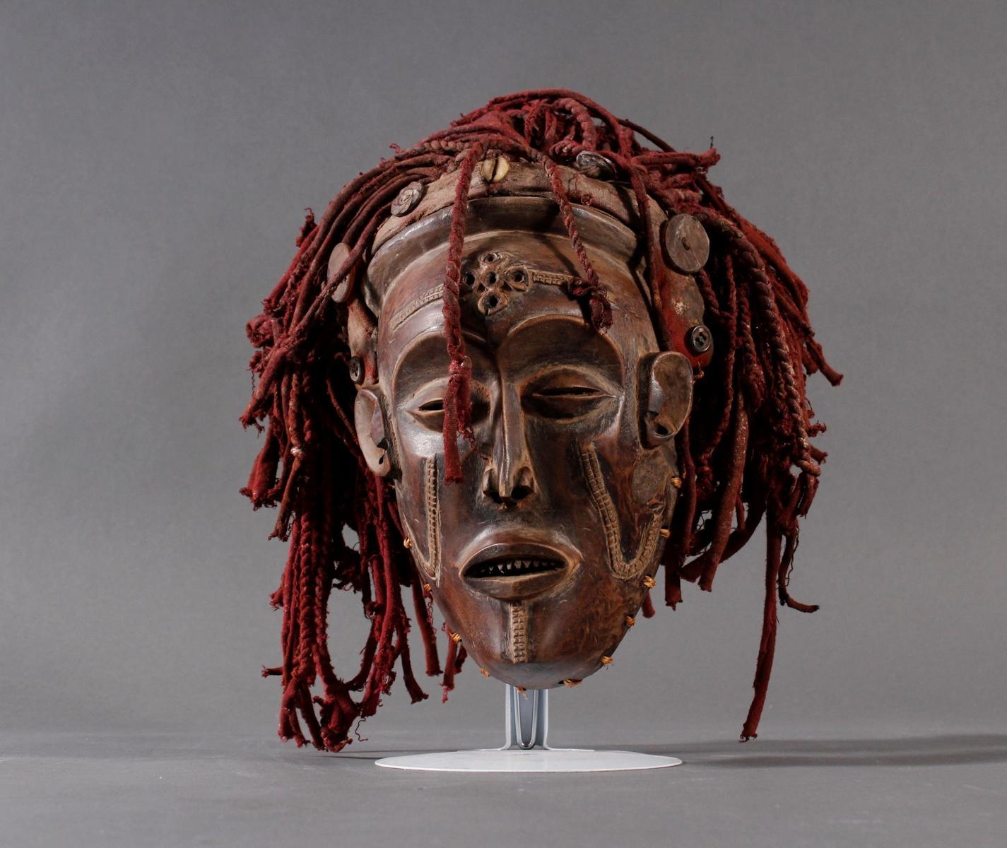 Weibliche Tanzmaske 'Mwana pwo'