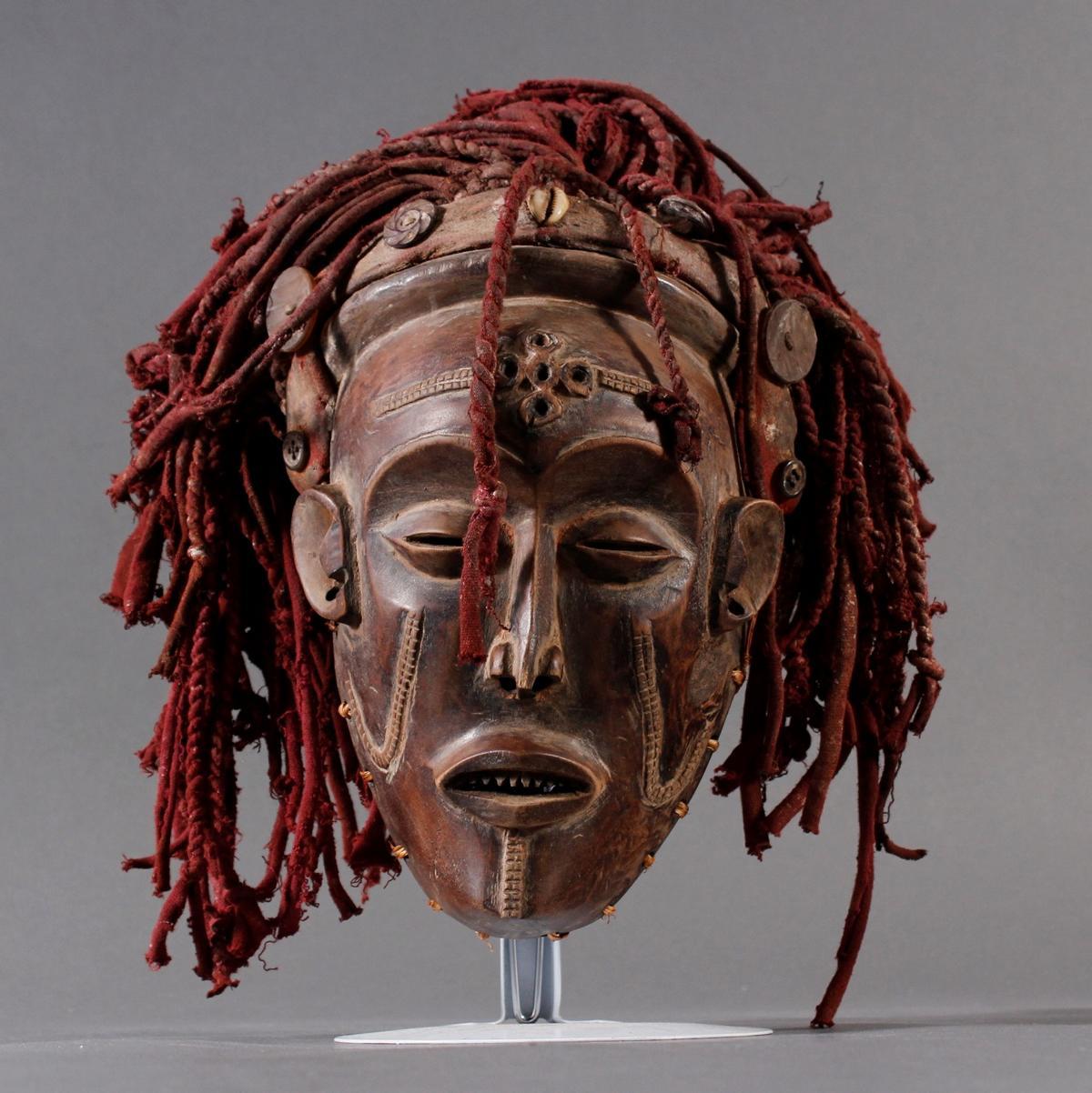 Weibliche Tanzmaske 'Mwana pwo'-2