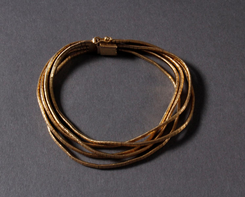 Damen-Armband, 18 Karat Gelbgold-2