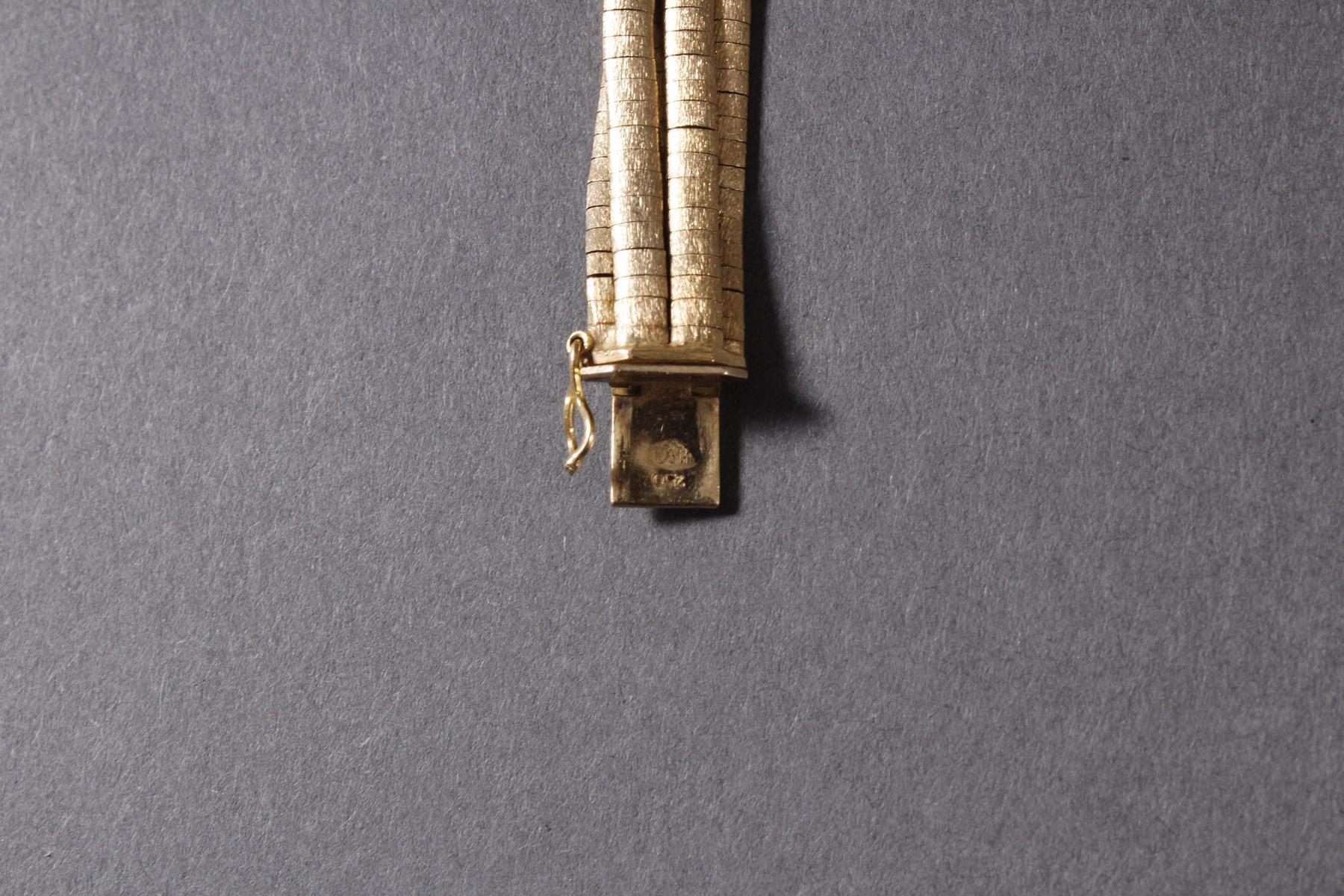 Damen-Armband, 18 Karat Gelbgold-3