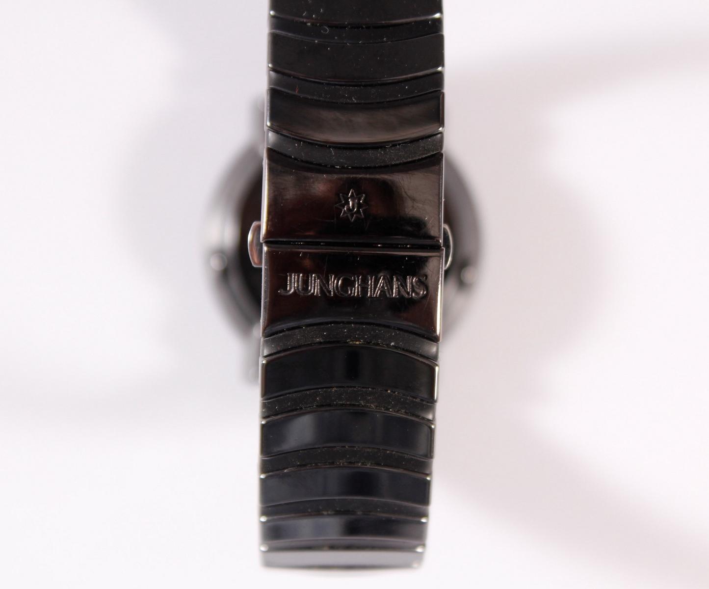 Junghans, Mega Solar Ceramic Herrenarmbanduhr 018 1110-2